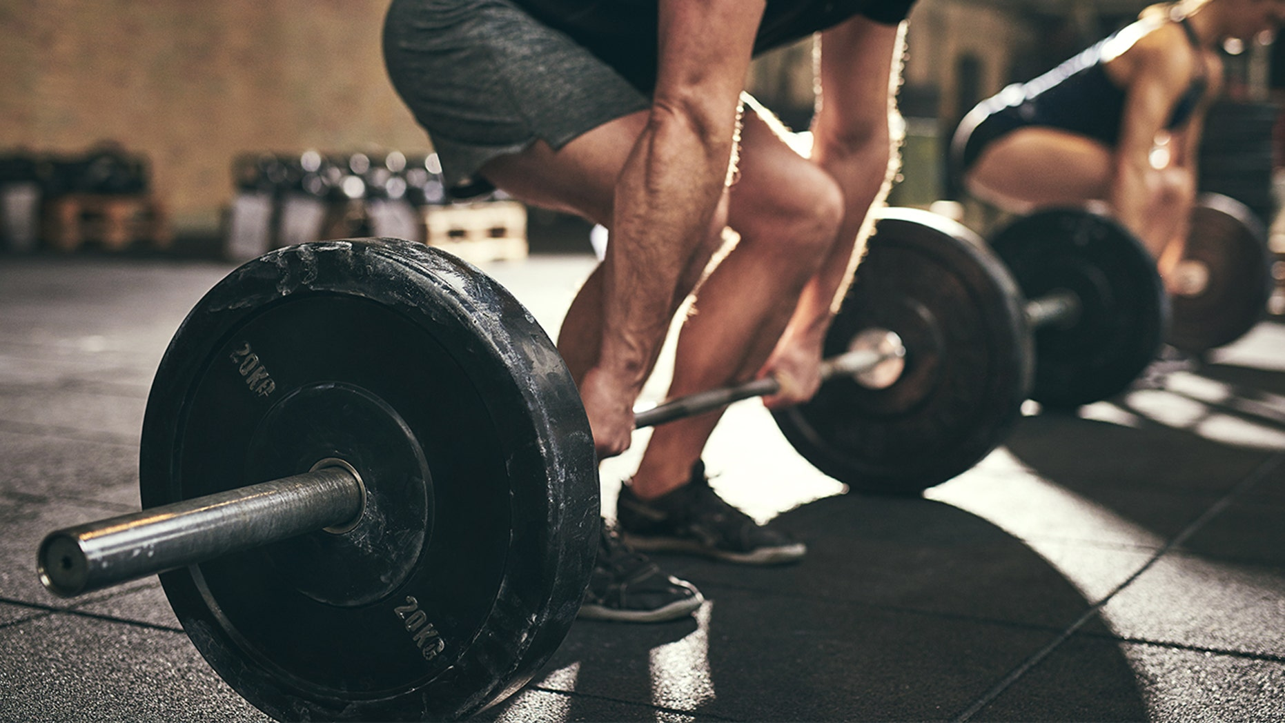 A young man was attacked at the gym while lifting weights for being too loud.