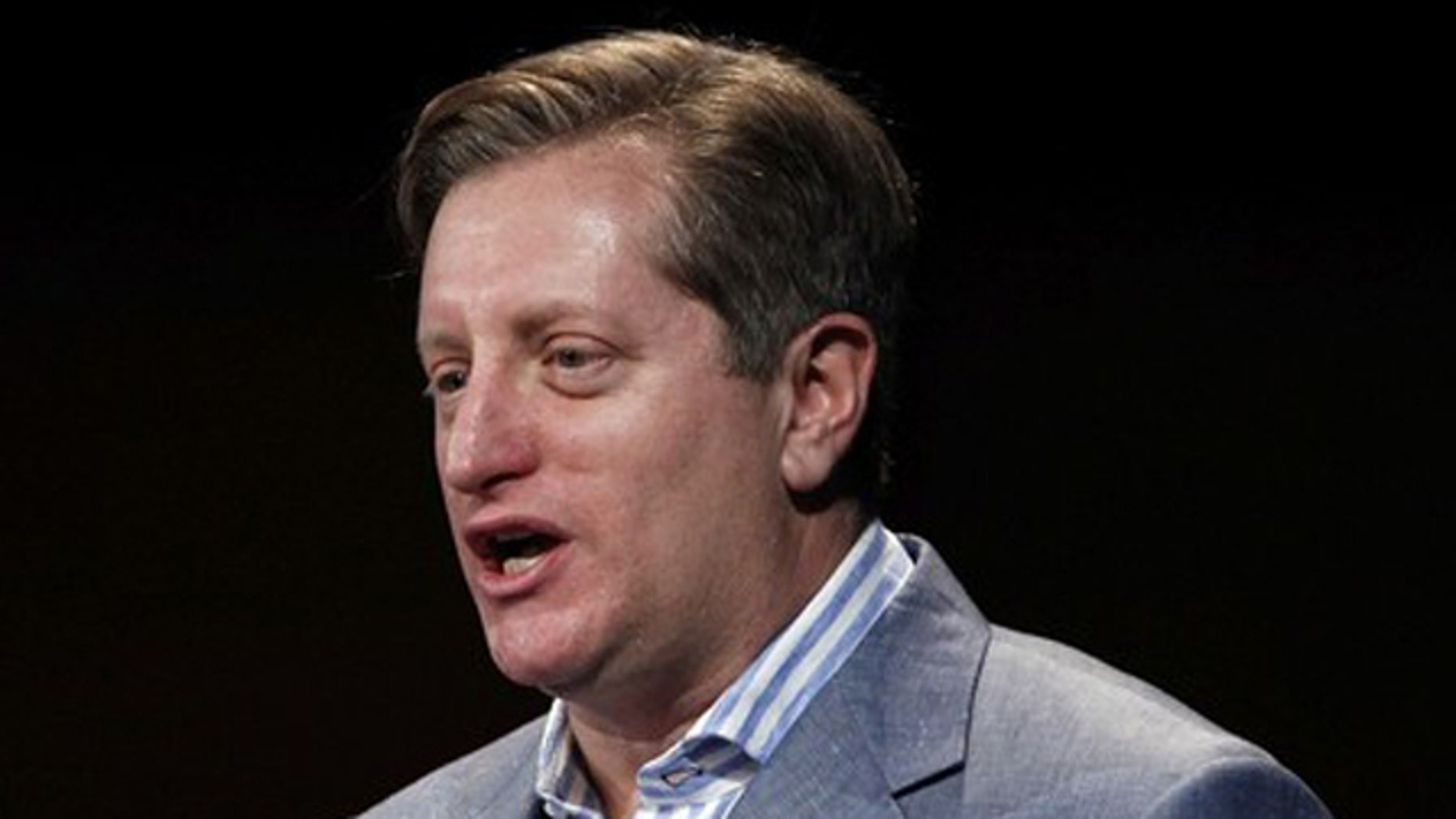 Steve Eisman, senior portfolio manager of the FrontPoint Financial Services Fund, speaks at the 16th annual Sohn Investment Conference in New York May 25.