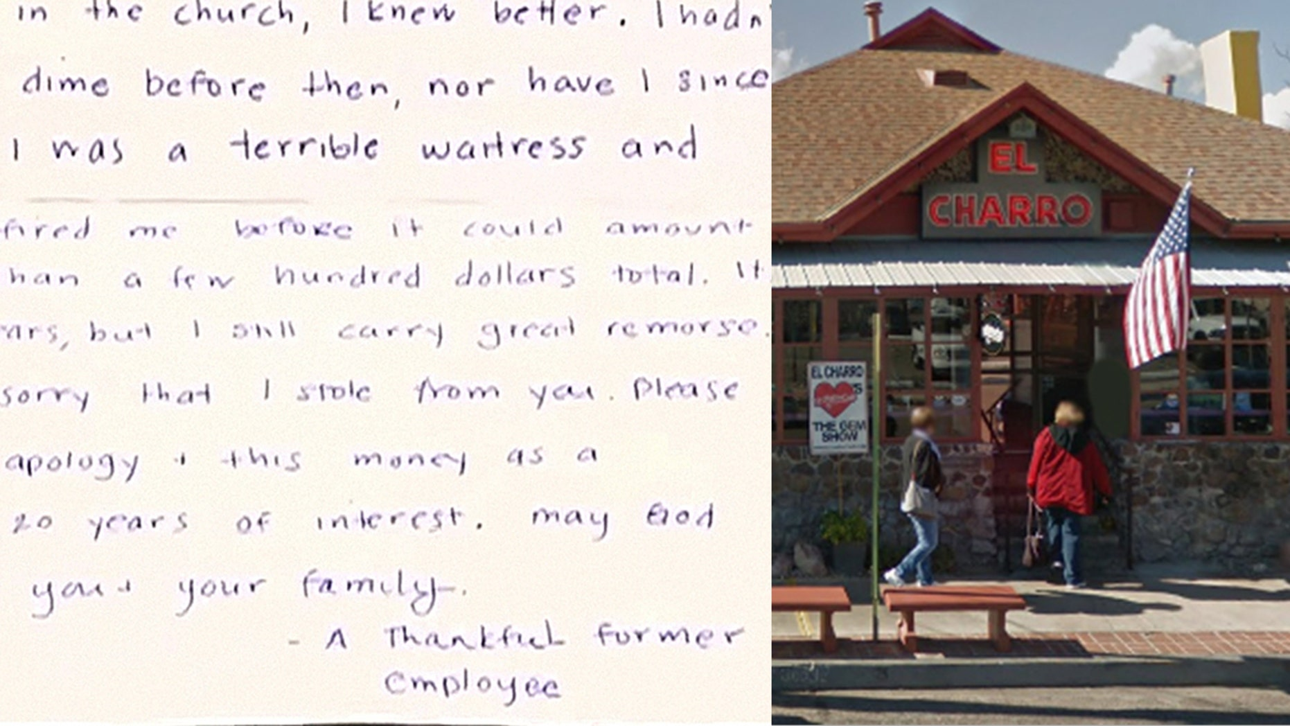 The Flores family received an apology note and $1,000 in cash in the mail from a former staffer.
