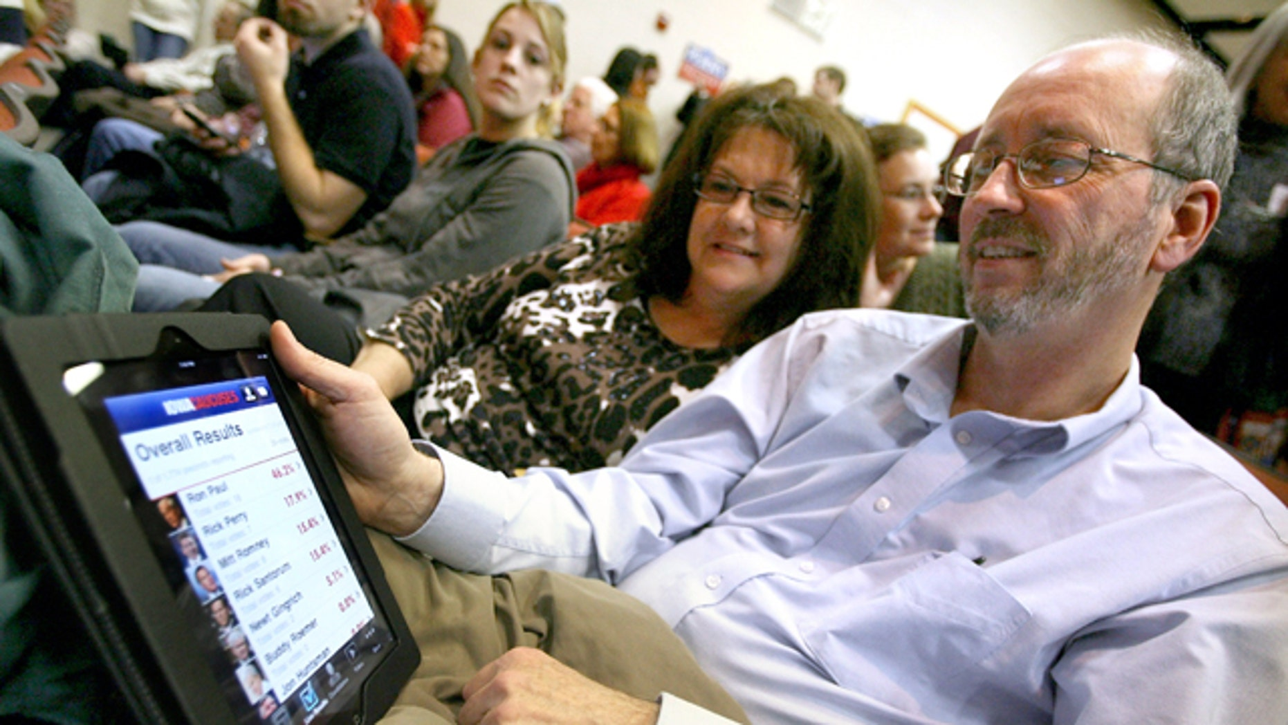 Will you vote for the next president on your iPad?