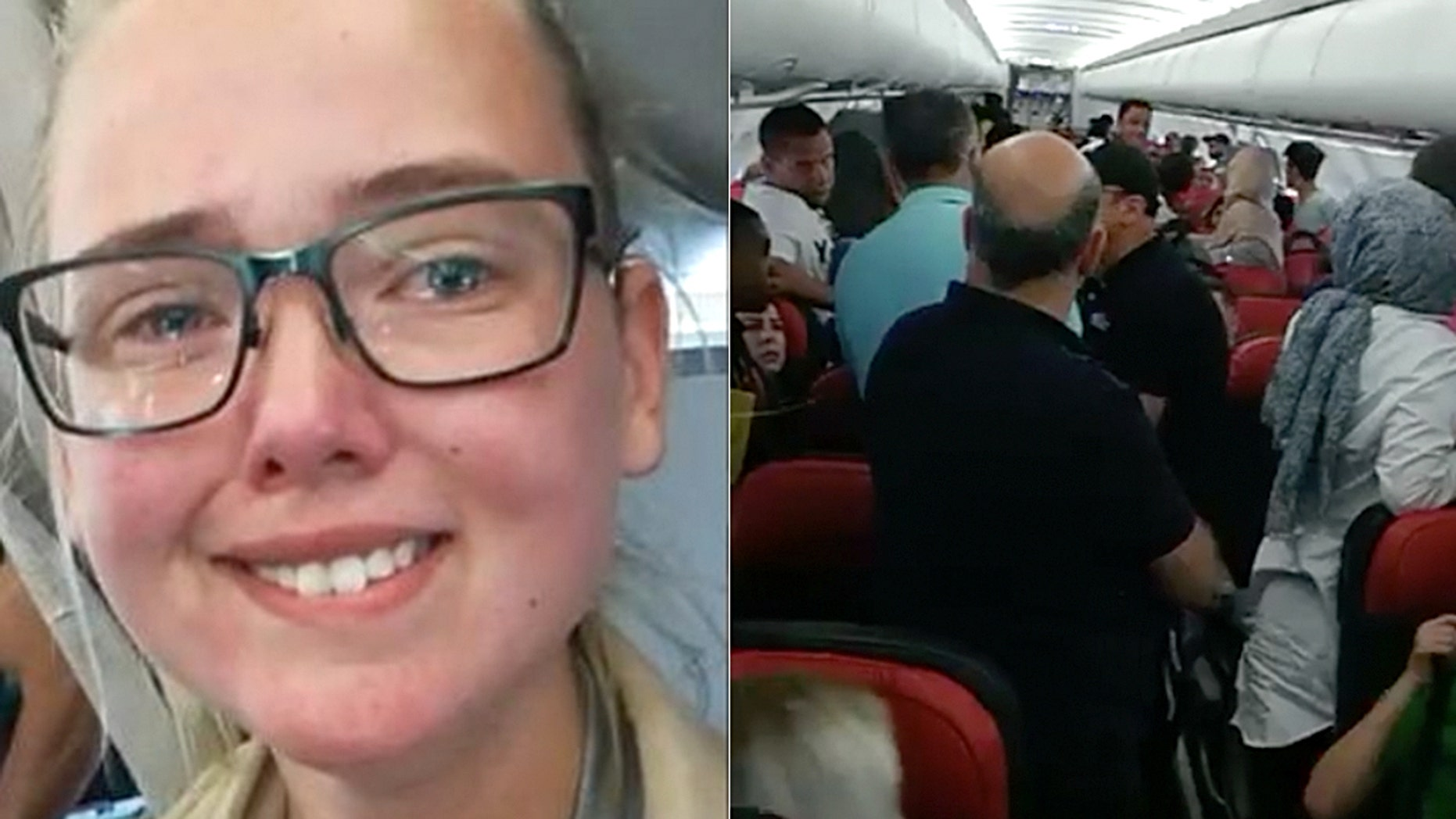 Elin Ersson, a student at Gothenburg University, was subjected to fawning media coverage over her stunt earlier this month when she refused to take her seat on the plane until the 52-year-old Afghan deportee was released. She was successful and authorities weren't able to deport the man.