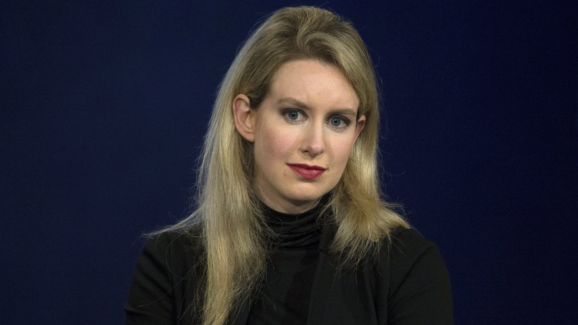 Elizabeth Holmes, CEO of Theranos, attends a panel discussion during the Clinton Global Initiative's annual meeting in New York, September 29, 2015.  REUTERS/Brendan McDermid/File Photo - RTX2KCH3