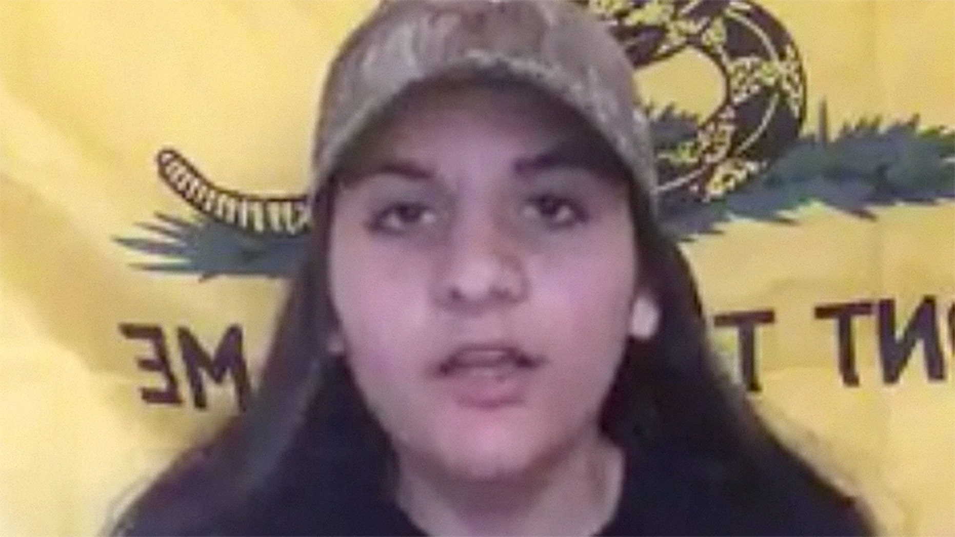 Elizabeth Najjar, 16, claims school officials asked to take down a Facebook video after she spoke up for gun rights.