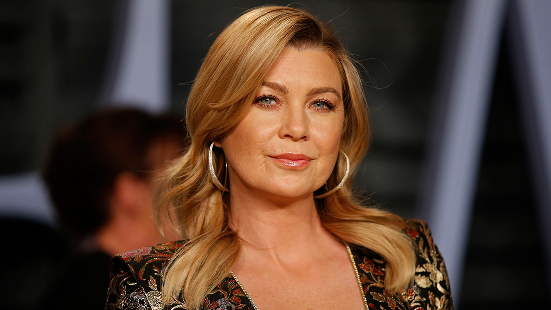 Ellen Pompeo says she lost her purse while on vacation in Italy.