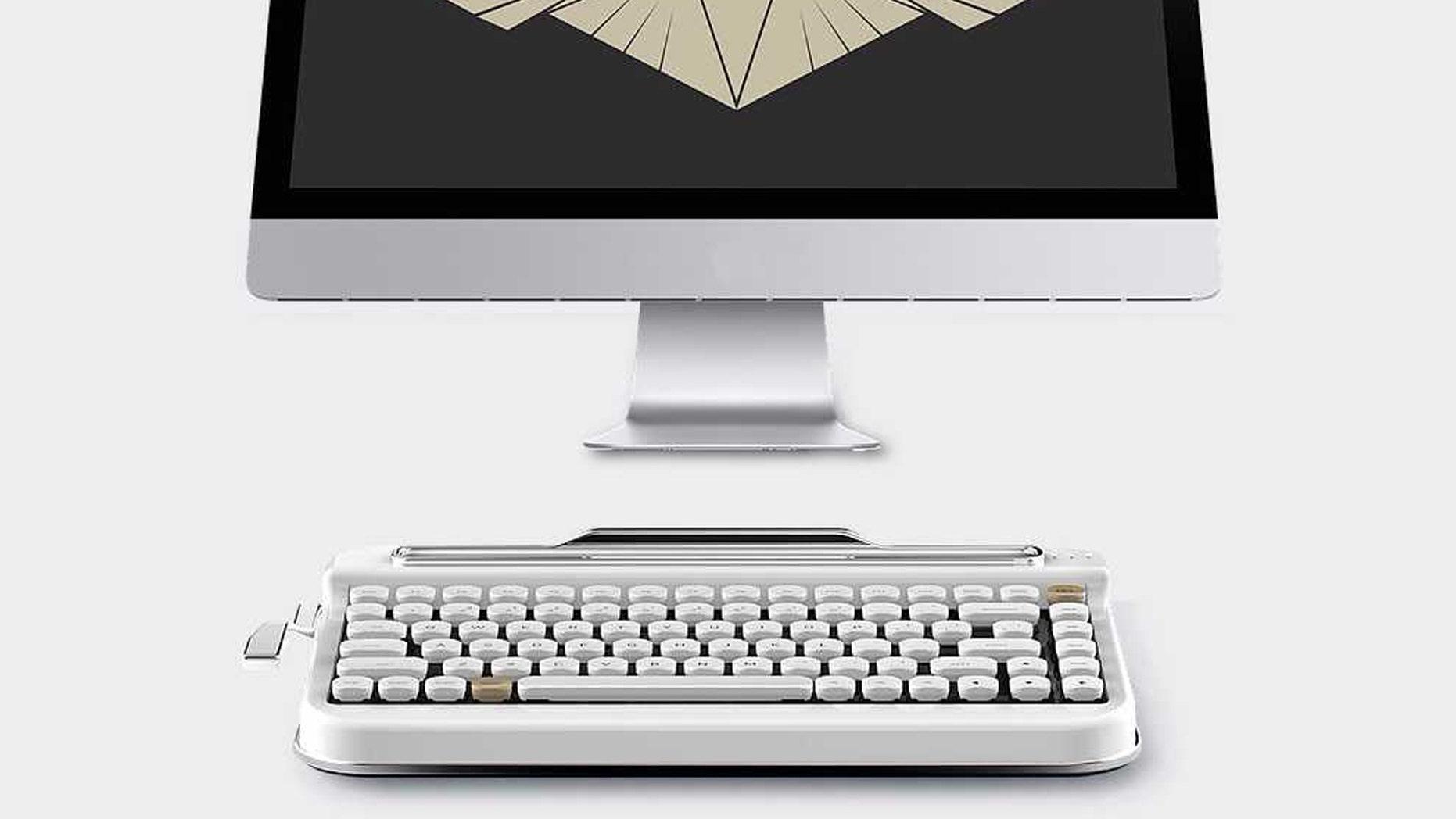 c9f0dcd9ded Retro typewriter keyboard is the MacBook antidote | Fox News
