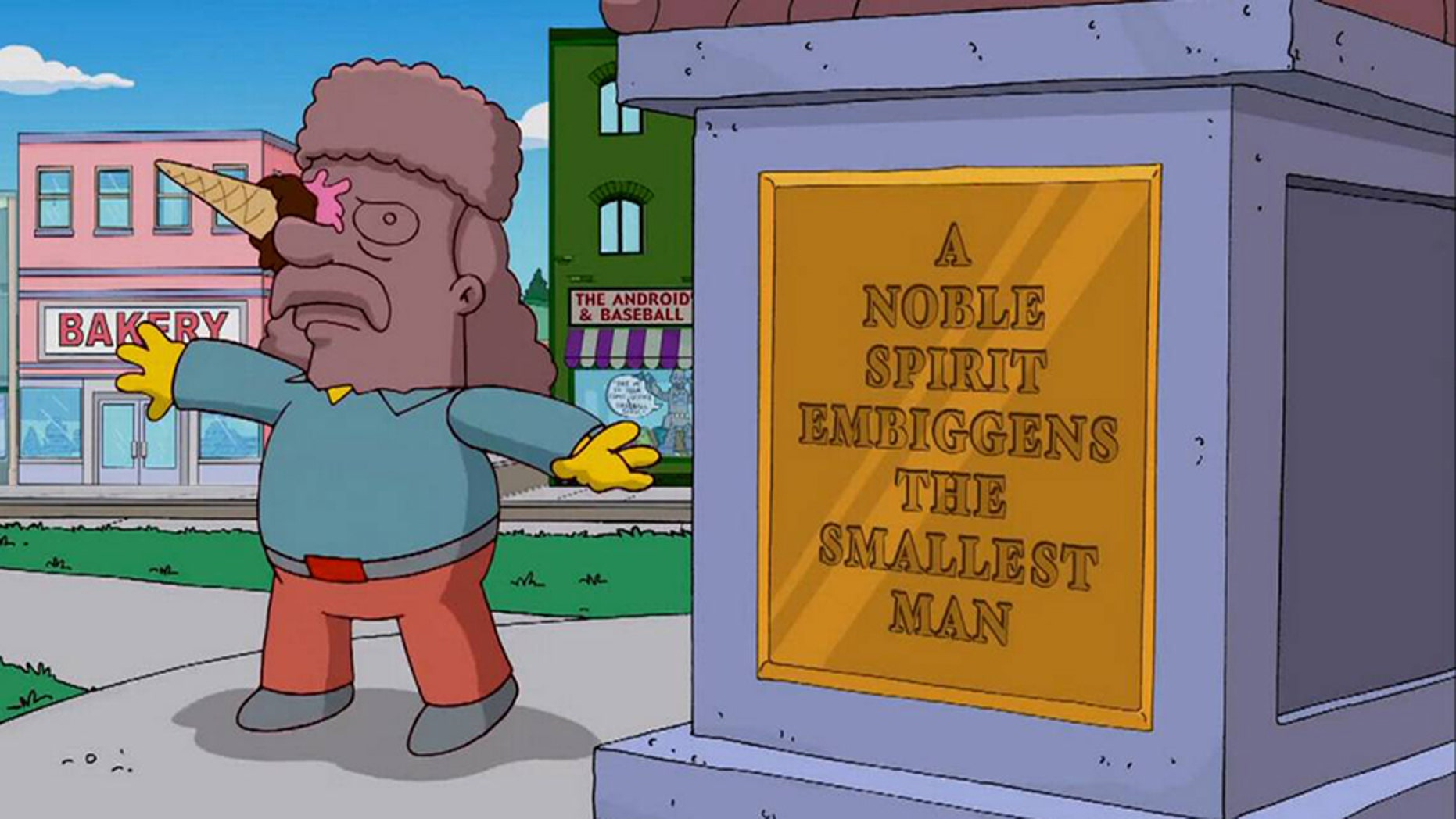 """A word seemingly invented more than 20 years ago by writers of """"The Simpsons"""" has made its way into Merriam-Webster's Dictionary."""