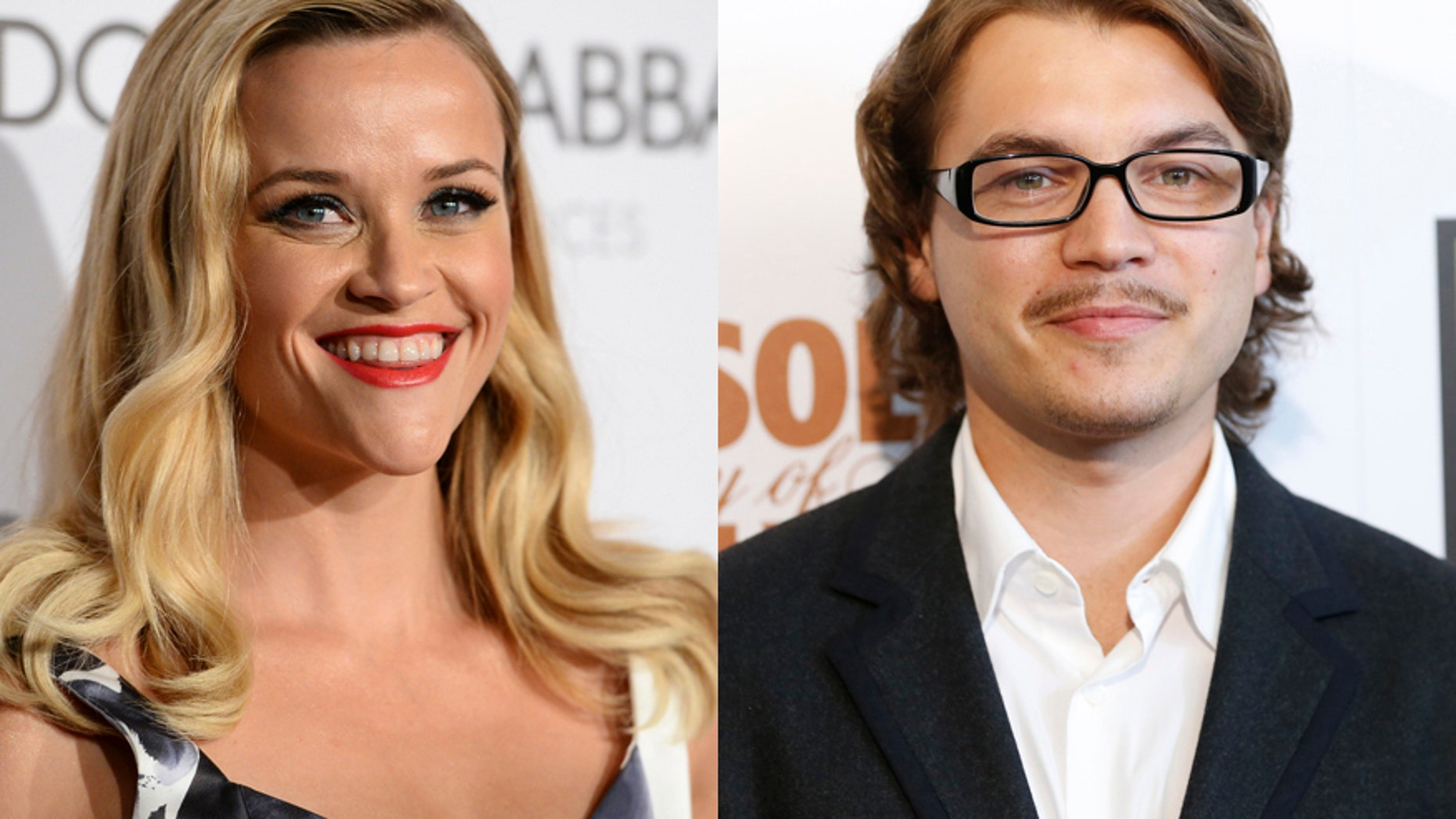 Actors Reese Witherspoon (left) and Emile Hirsch.