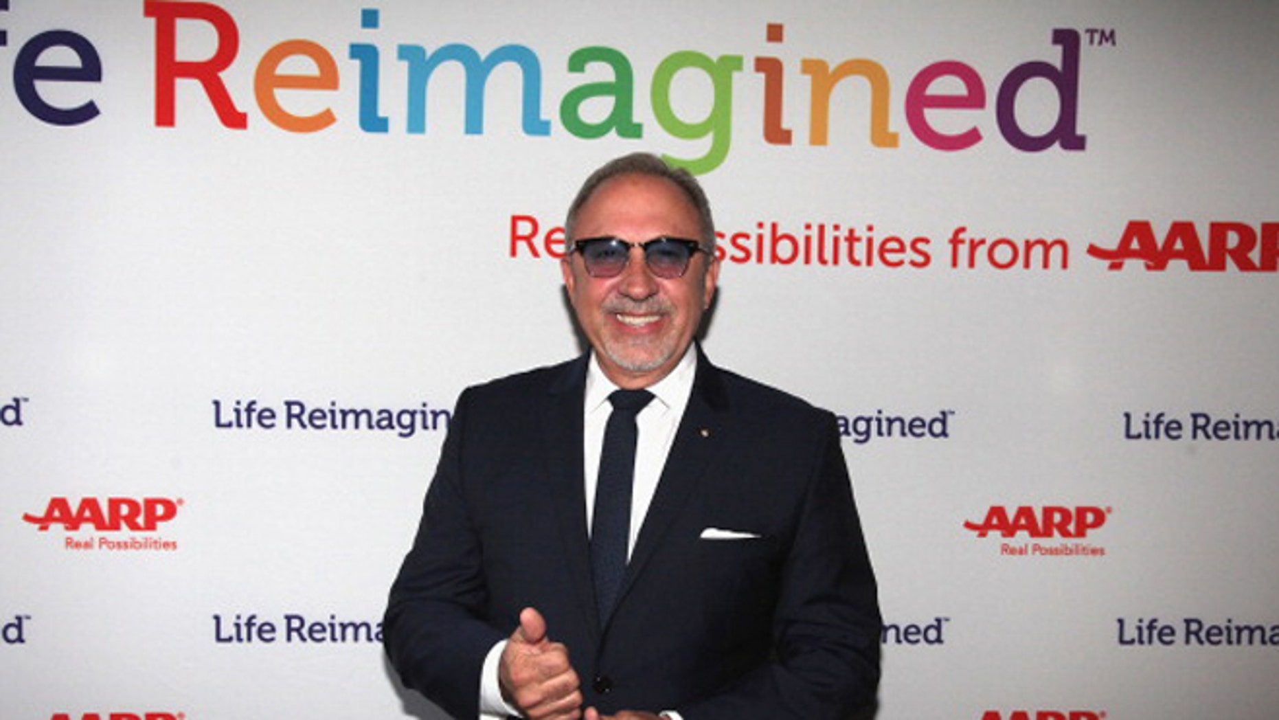 """Emilio Estefan attends The Launch of AARP's """"Life Reimagined"""" hosted by Emilio Estefan in New York City."""