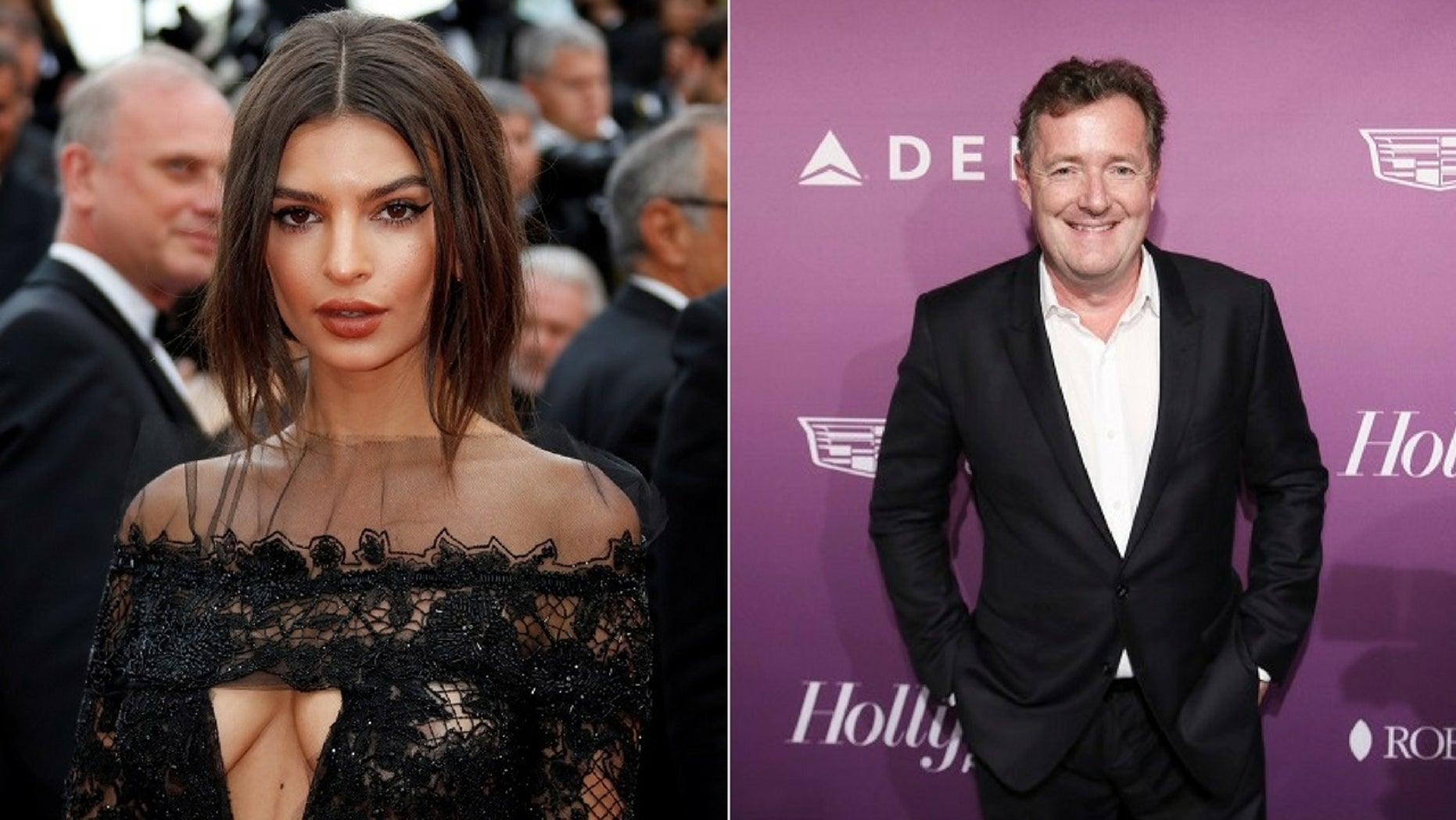 Emily Ratajkowski responded to Piers Morgan's criticism of her sexy lingerie video.