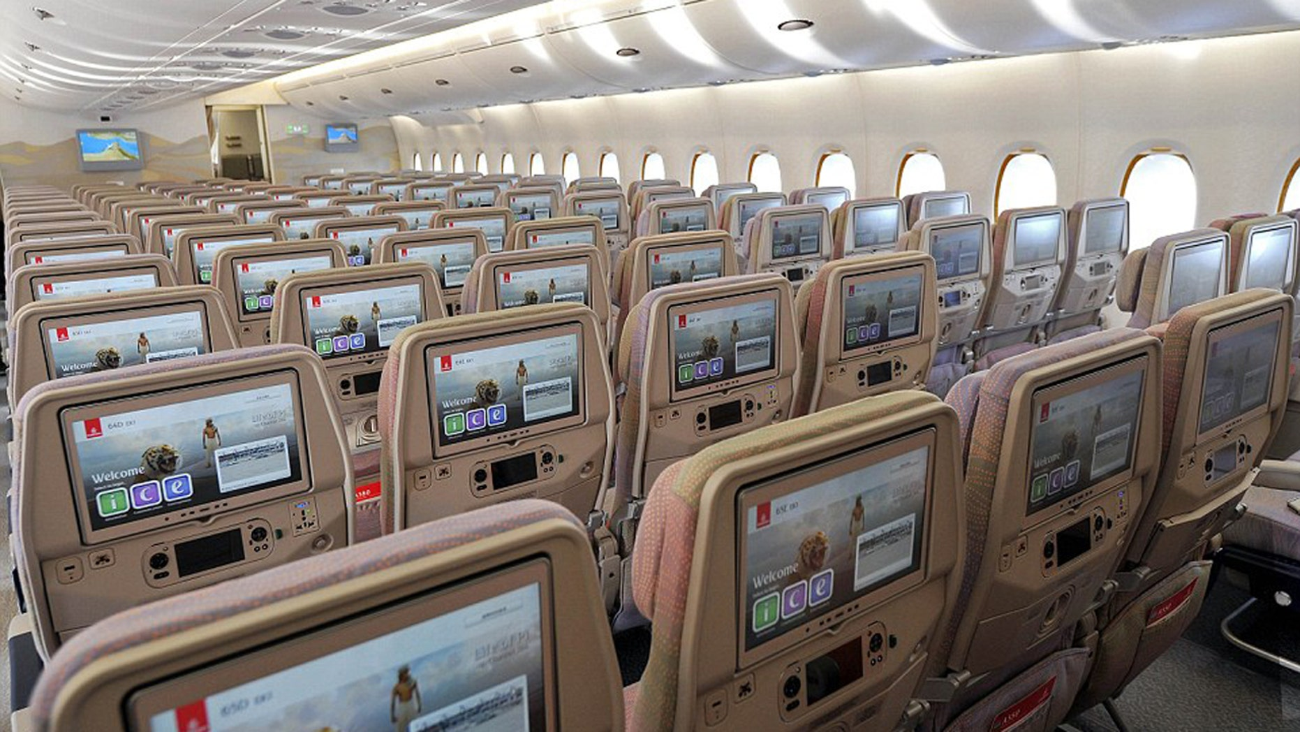 Emirates new A380 can carry a record 615 passengers.