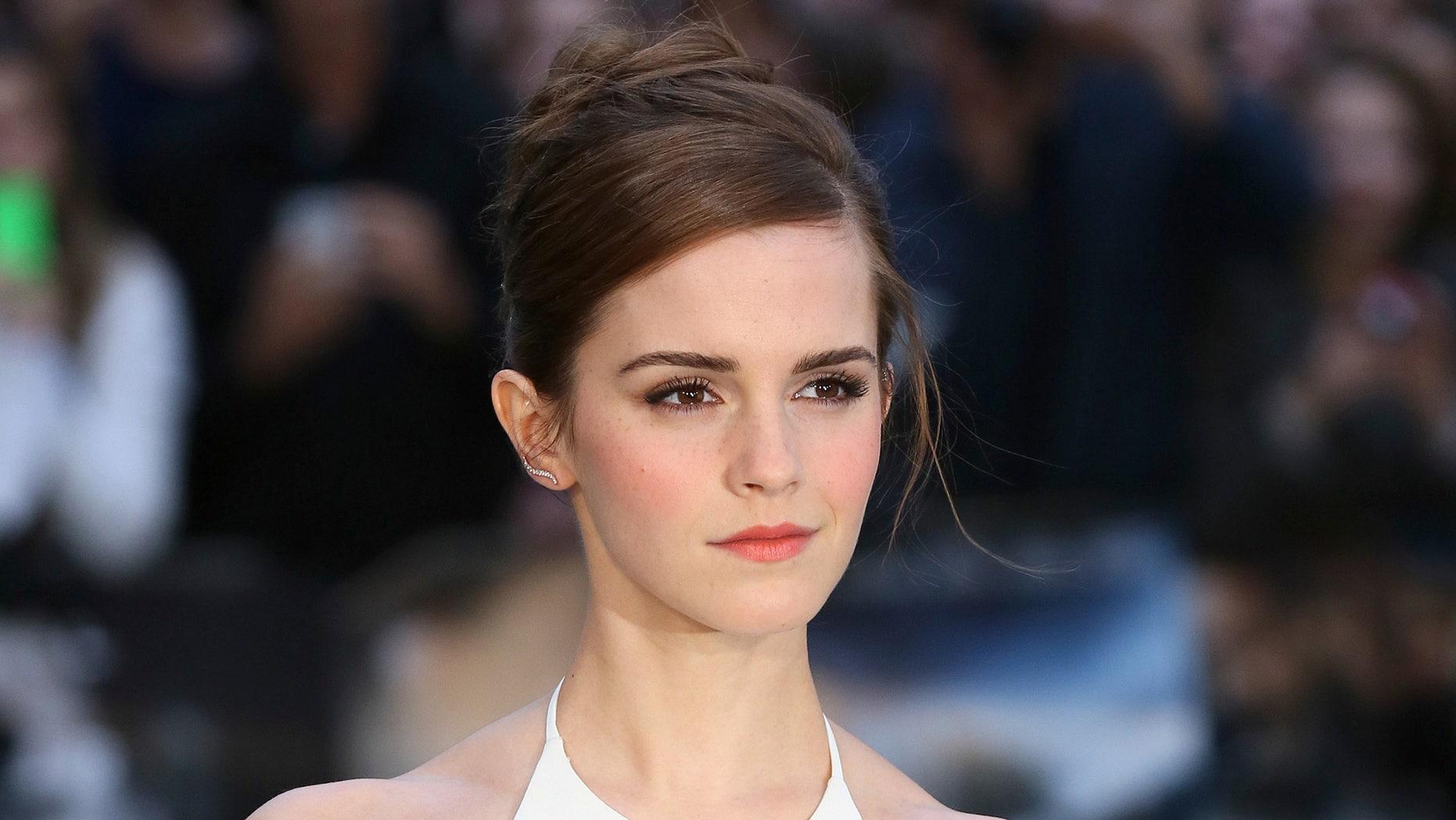 "March 31, 2014. Emma Watson arrives for the UK premiere of ""Noah,"" in London."
