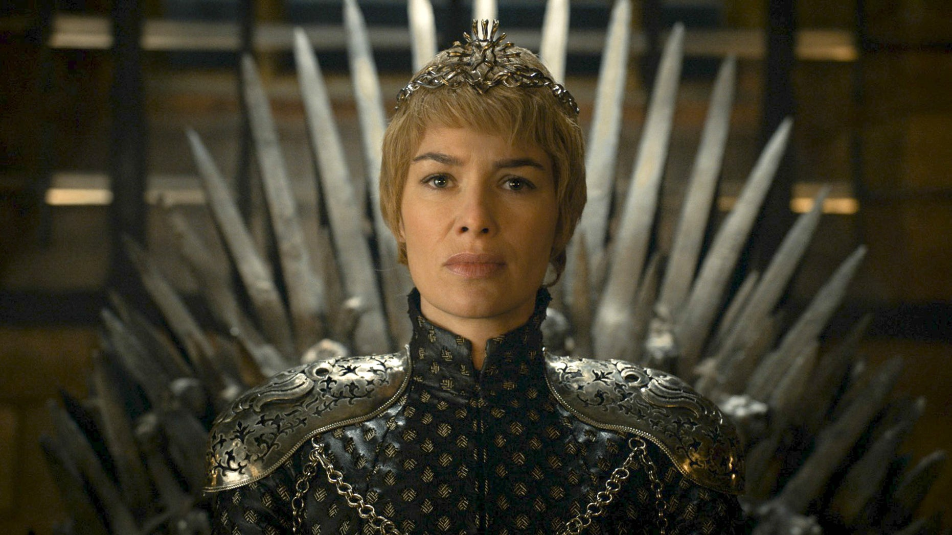 "In this image released by HBO, Lena Headey appears in a scene from ""Game of Thrones.""  ""Game of Thrones"" and ""Veep"" are among the top contenders for the 68th prime-time Emmy Award nominations. The shows claimed the top drama and comedy series prizes at last year's Emmy ceremony.  (HBO via AP)"