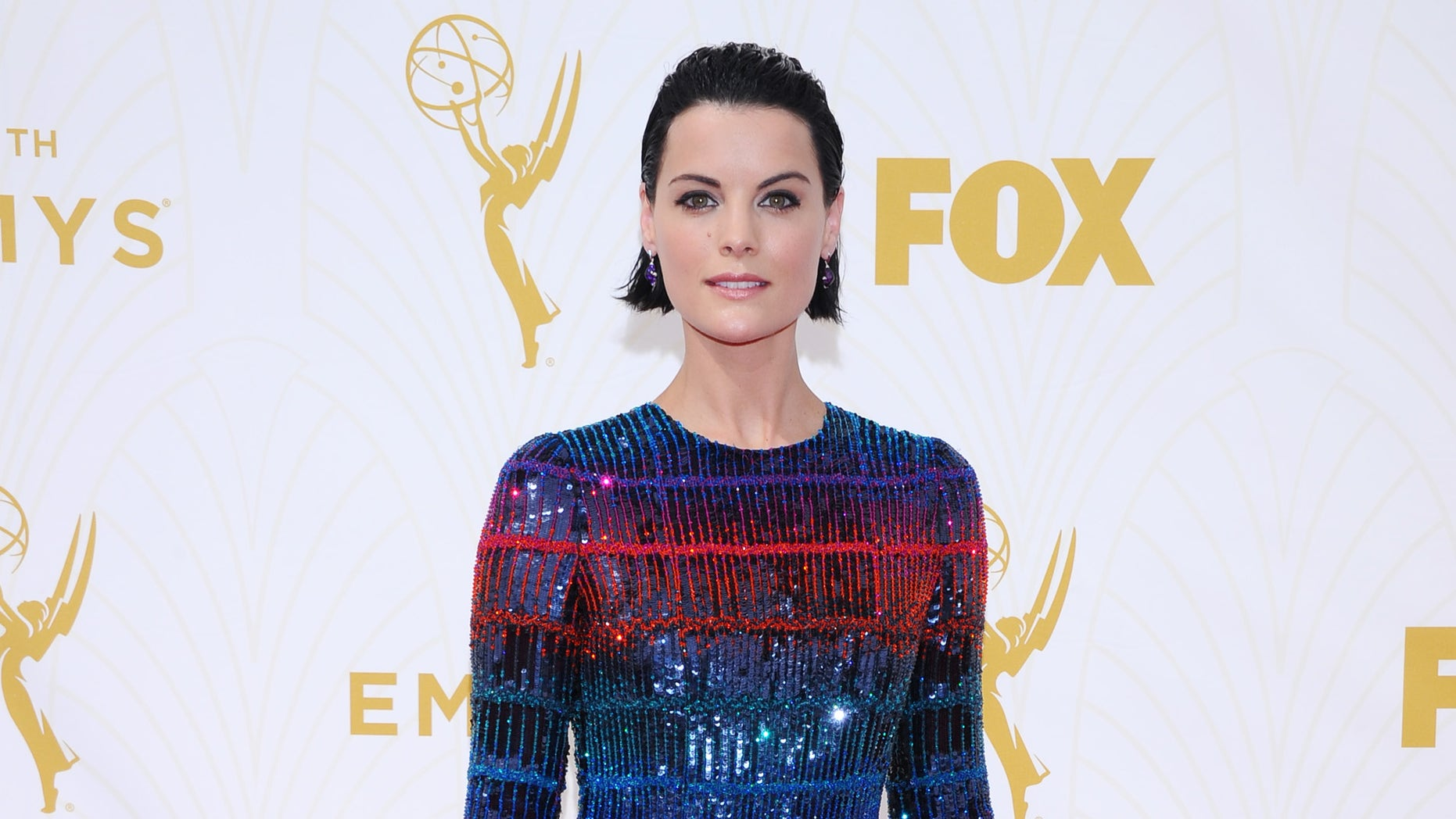 IMAGE DISTRIBUTED FOR THE TELEVISION ACADEMY - Jaimie Alexander arrives at the 67th Primetime Emmy Awards on Sunday, Sept. 20, 2015, at the Microsoft Theater in Los Angeles. (Photo by Vince Bucci/Invision for the Television Academy/AP Images)