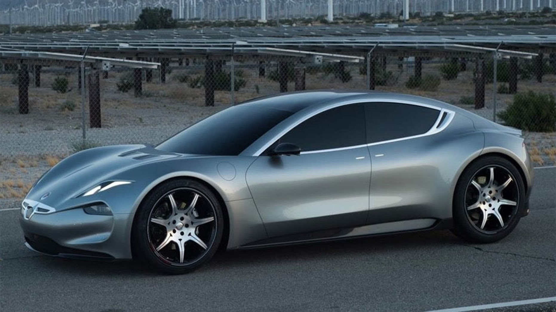 Fisker Emotion Electric Sports Sedan Debuts