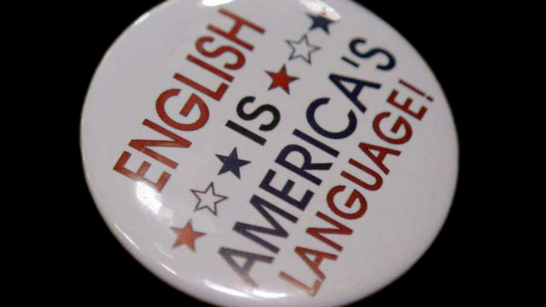 Pins supporting the republican party are seen on a delegate during the opening session of the Republican National Convention in St. Paul, Minn., Monday, Sept. 1, 2008. (AP Photo/Jae C. Hong)