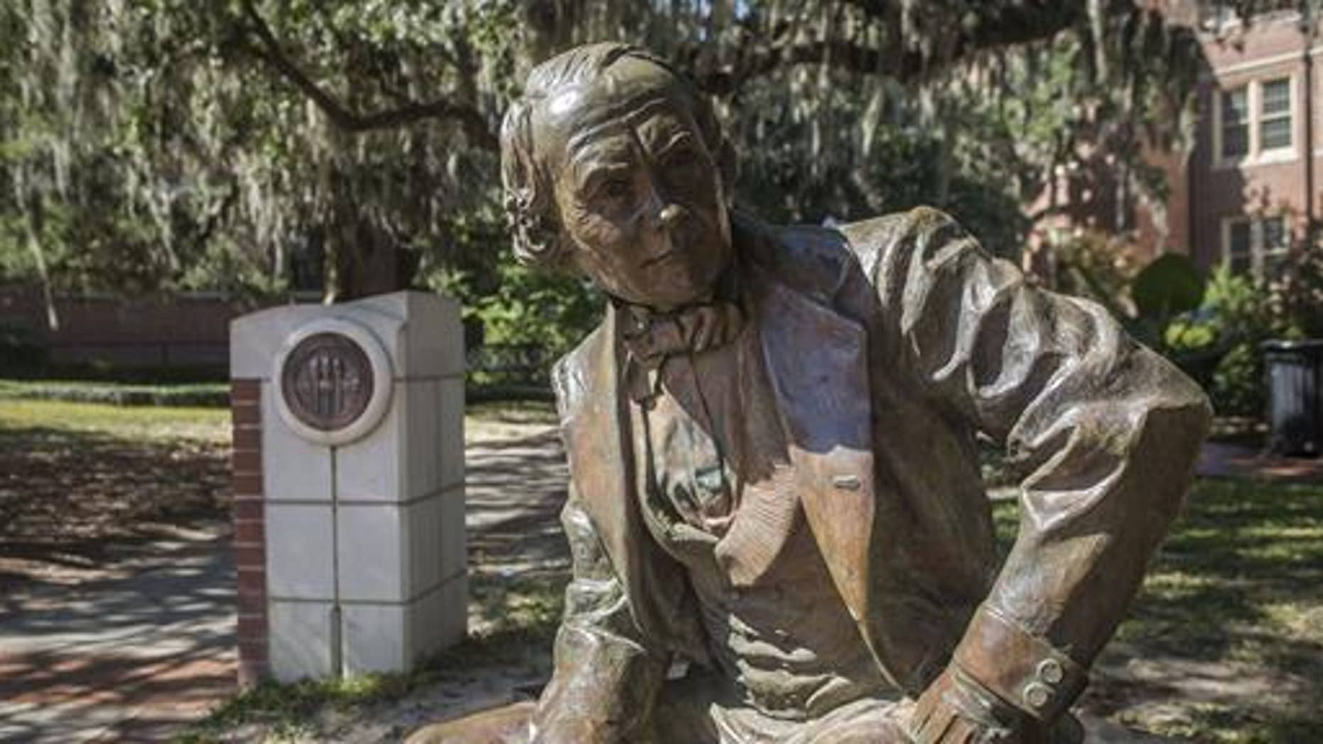 Florida State University plans to remove a statue of Francis Eppes, a grandson of President Thomas Jefferson who owned slaves and supported the Confederate cause during the Civil War.