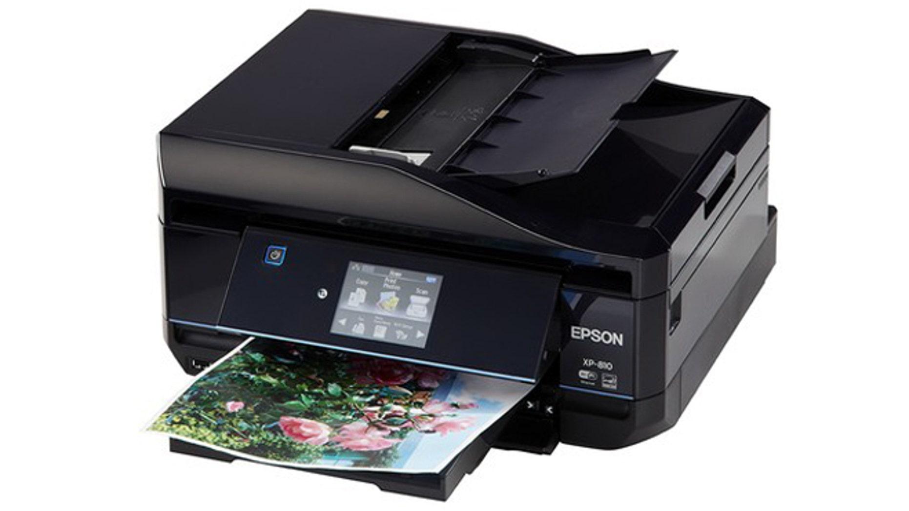 The Epson Expression Premium XP810.