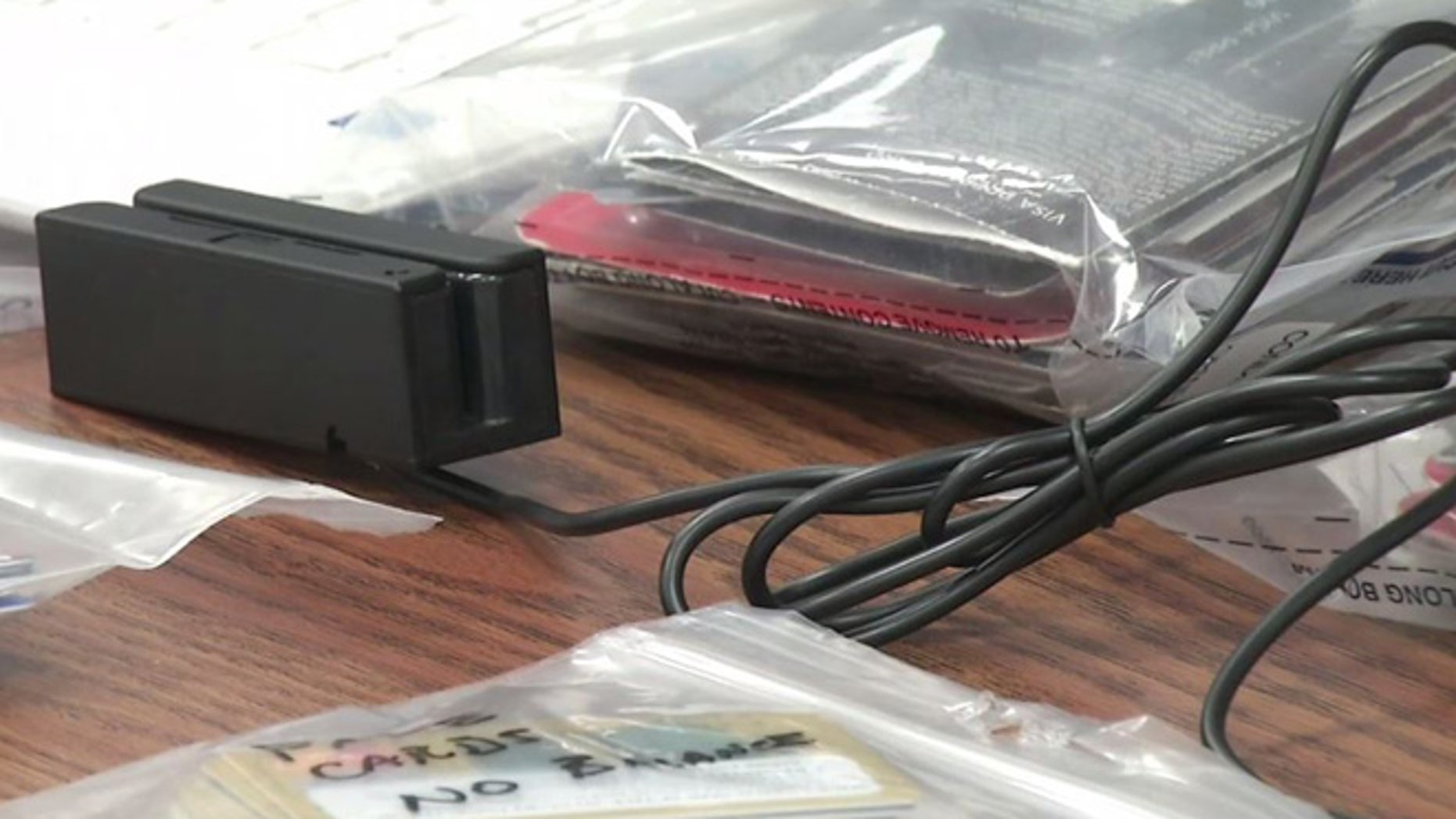 This photo, obtained by Fox affiliate KOKH, shows an ERAD machine used by the Oklahoma Highway Patrol.