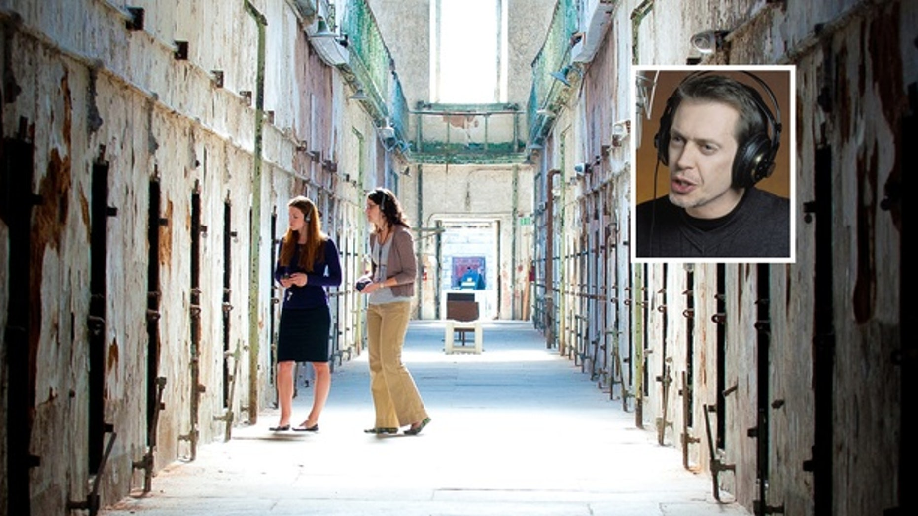 Steve Buscemi recorded the audio tour for mob-boss jailhouse Eastern State Penitentiary long before he was known as Knucky Thompson. (Courtesy Eastern State Penitentiary)