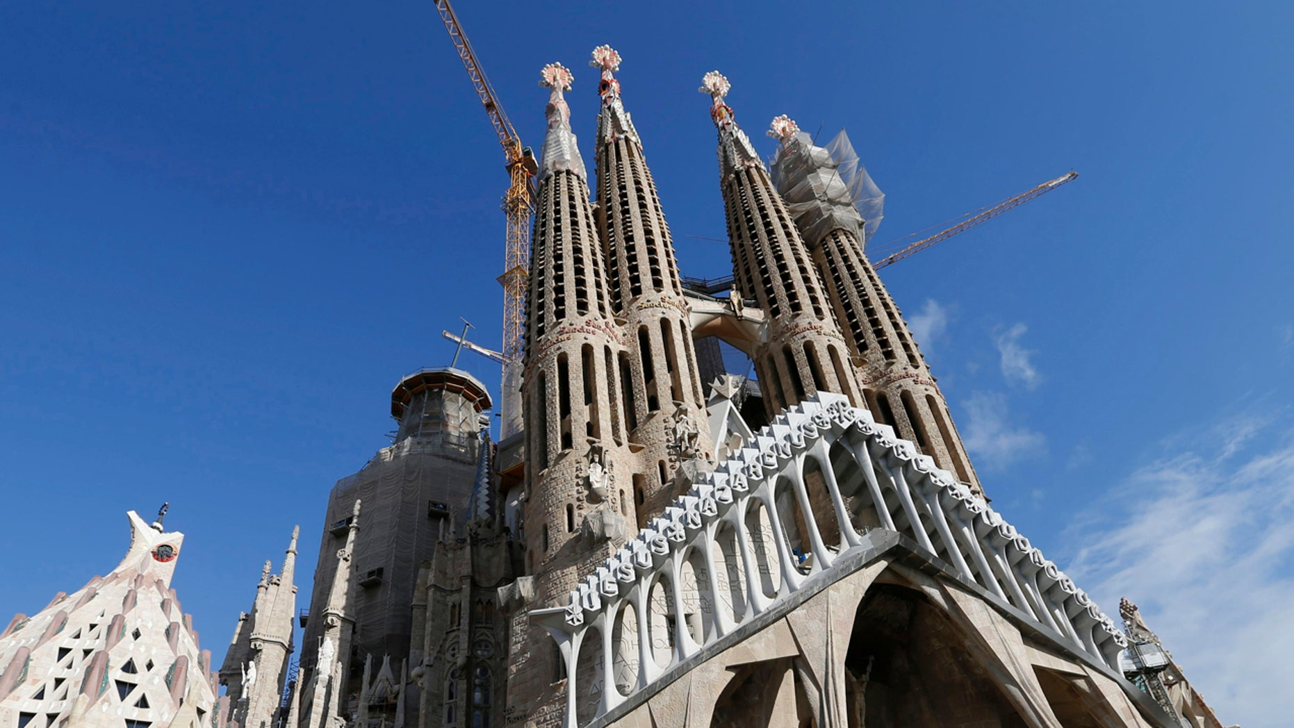 One of Barcelona's most famous sites, the Basilica Sagrada Familia, which was designed by Antoni Gaudi is undergoing major renovations.