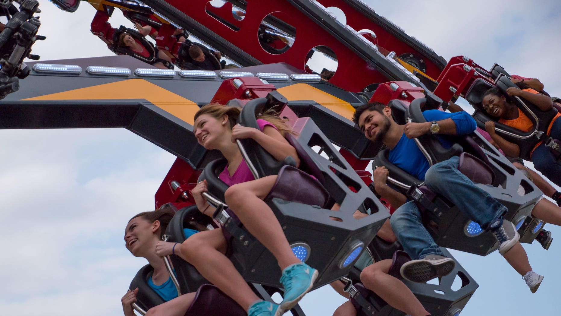 Did Six Flags wrongly turn away a young woman because of her shirt?