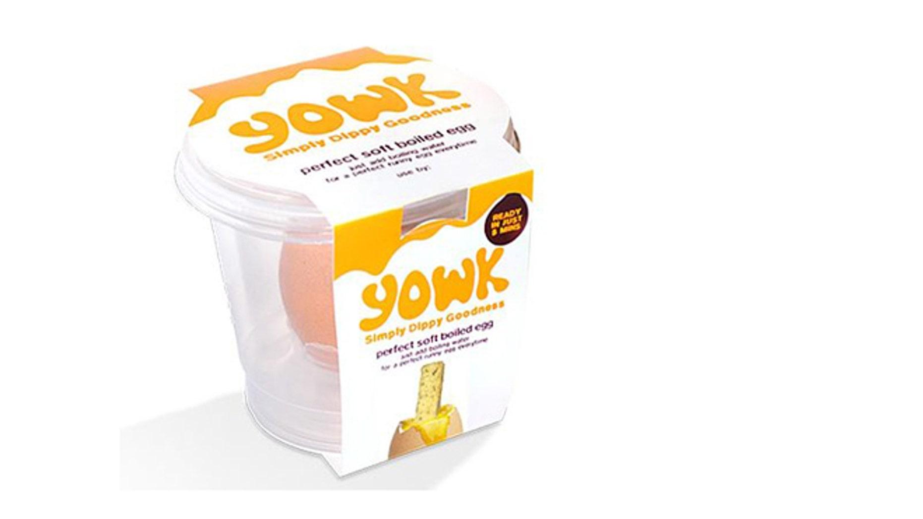 A portable, pre-cooked egg.