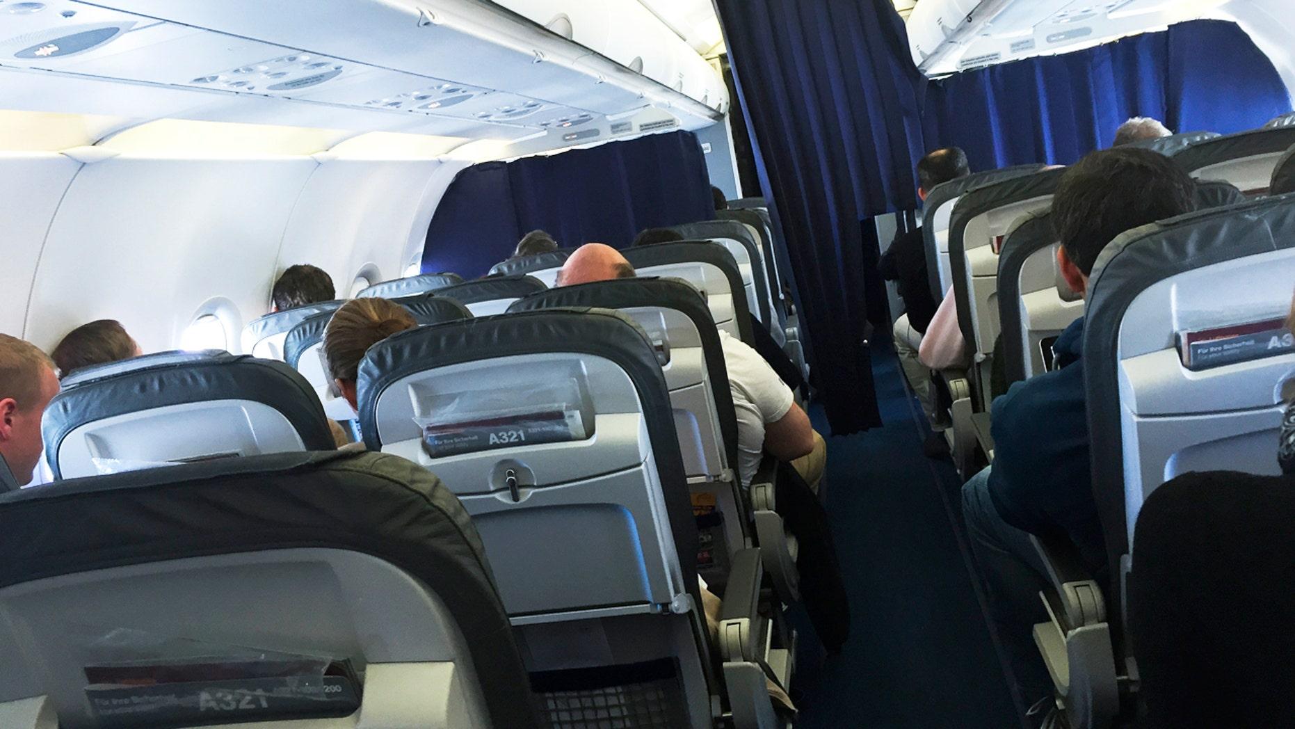 Not all passengers respect their fellow fliers.