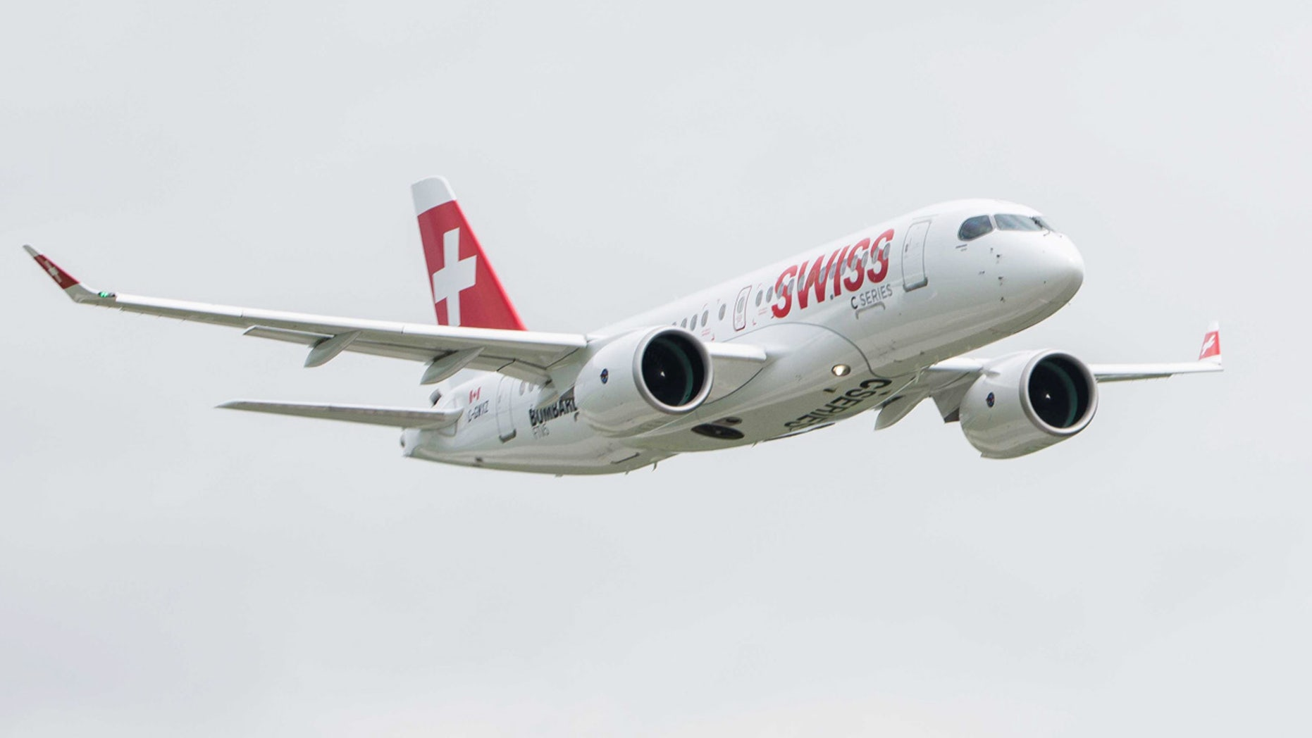 Swiss International Air Lines will debut the first CS100 in a maiden flight this week.