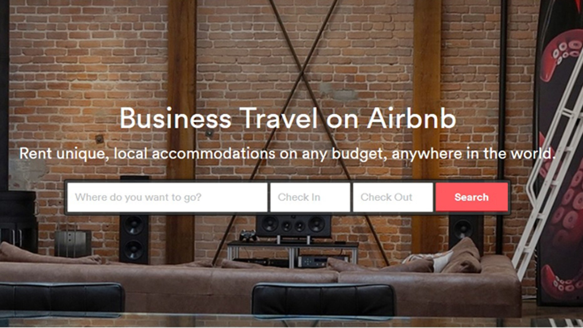 Airbnb is trying to appeal to business travelers.