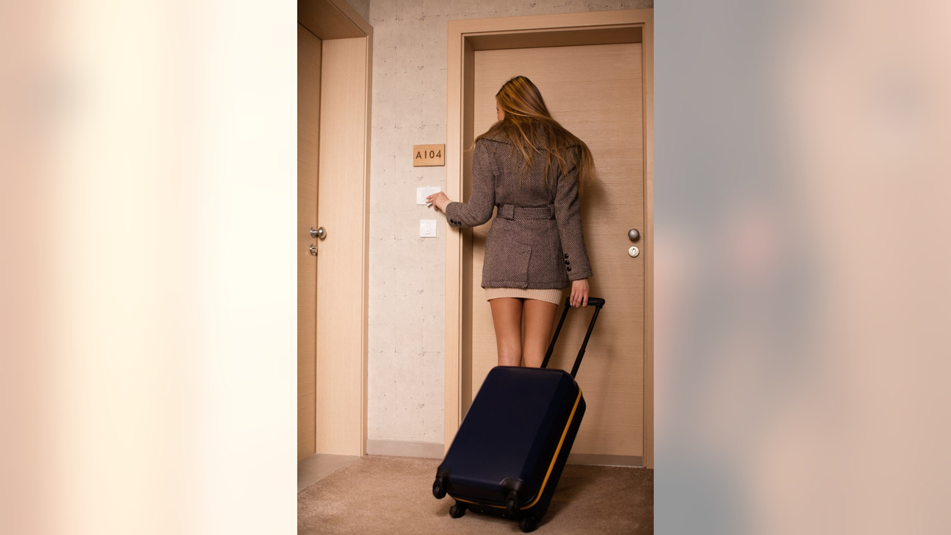 What's really behind that hotel room door?