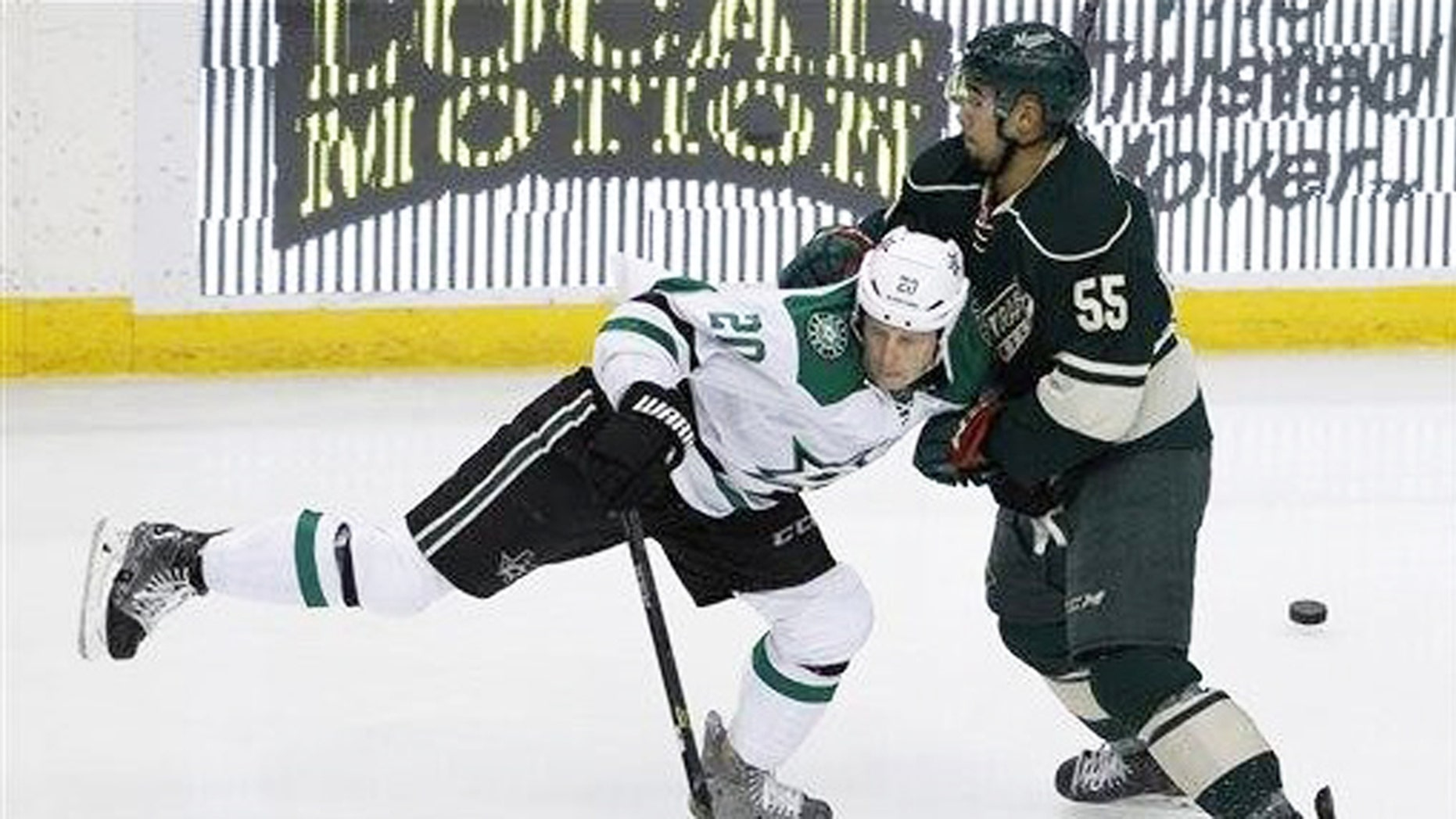 The Dallas Stars defeated the Minnesota Wild, Sat. Nov. 28.