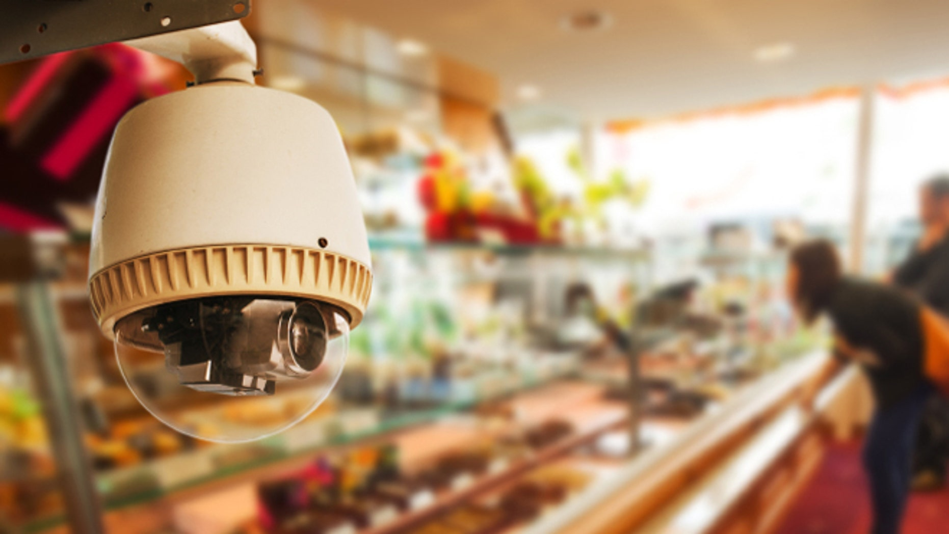A Yelp reviewer may have been caught in a lie by restaurant surveillance footage.
