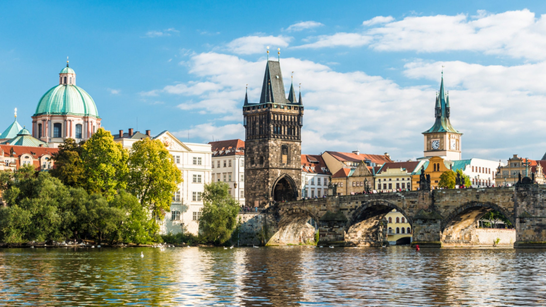 A group of bachelor boys thought they were going to party in Prague.