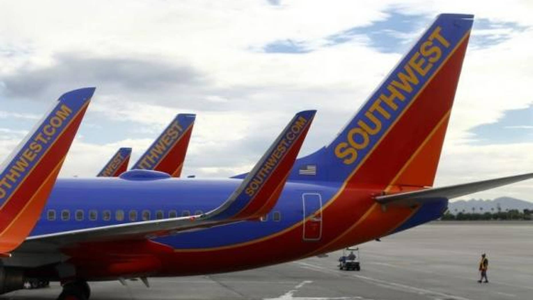 Southwest allegedly cancelled a man's ticket after he already flew the first leg of the trip.