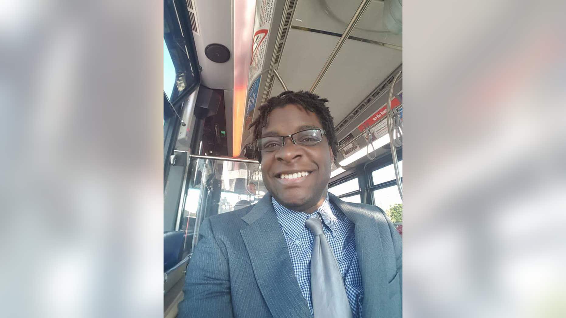 Washington resident D'Arcee Neal frequently uses public transportation.