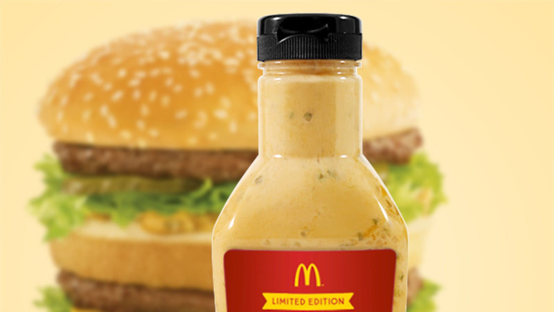 That special sauce is worth more than gold to some McDonald's fans.