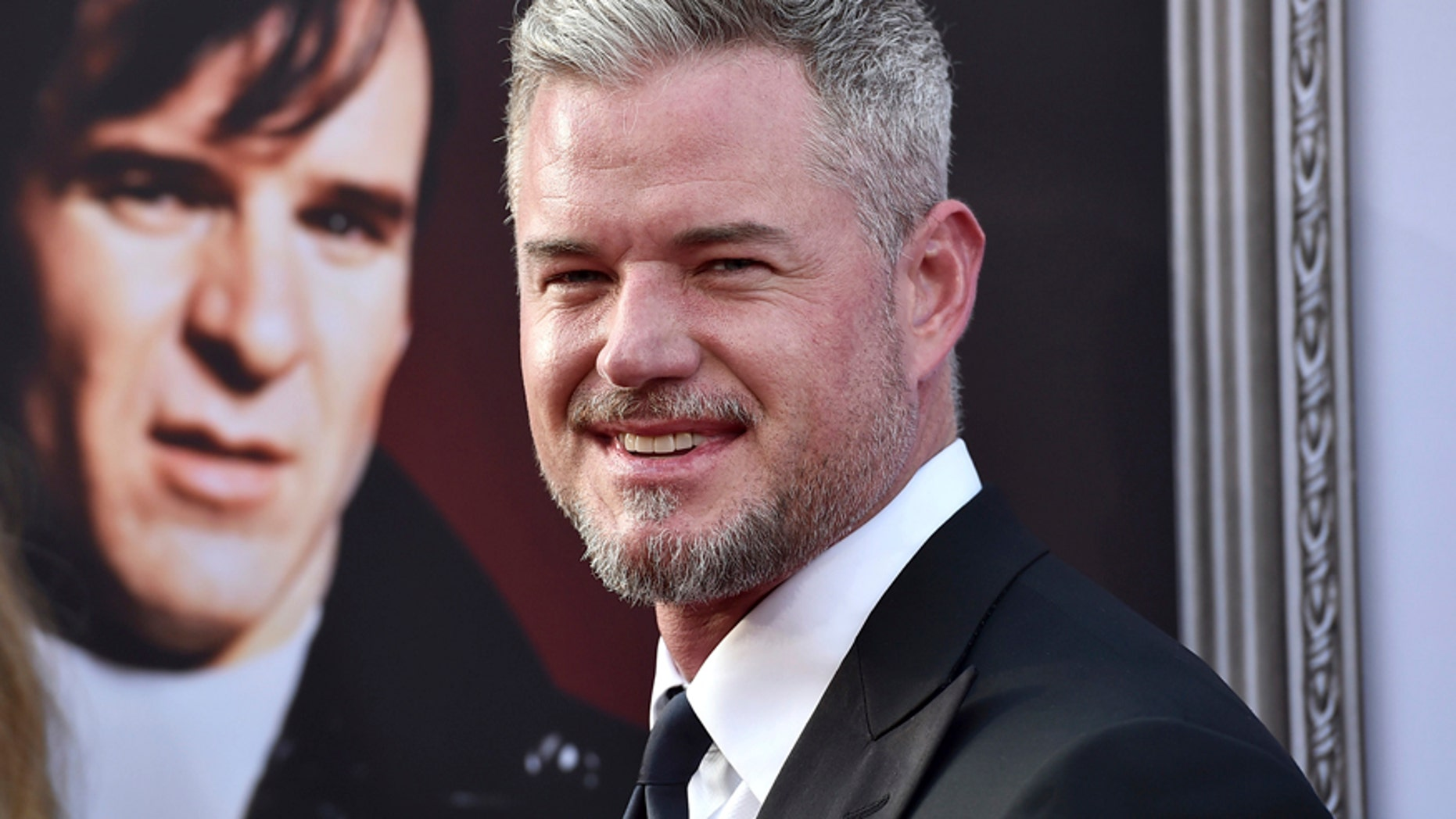 """In this June 4, 2015, file photo, Eric Dane arrives at the 43rd AFI Lifetime Achievement Award Tribute Gala at the Dolby Theatre in Los Angeles. Variety reported April 30, 2017, that TNT has temporarily shut down production of its drama, """"The Last Ship,"""" while Dane battles depression."""