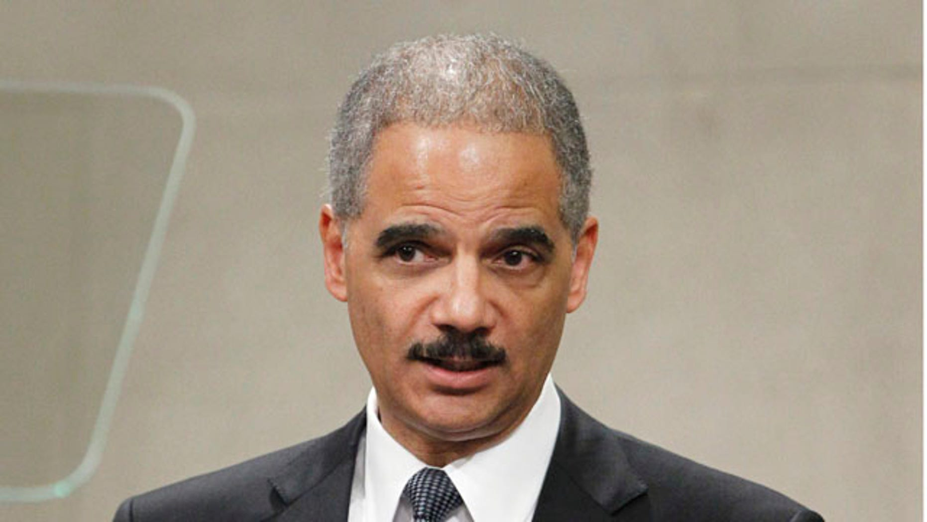 Jan. 11:Attorney General Eric Holder delivers remarks at the Martin Luther King Jr. commemorative program, at the Justice Department in Washington.