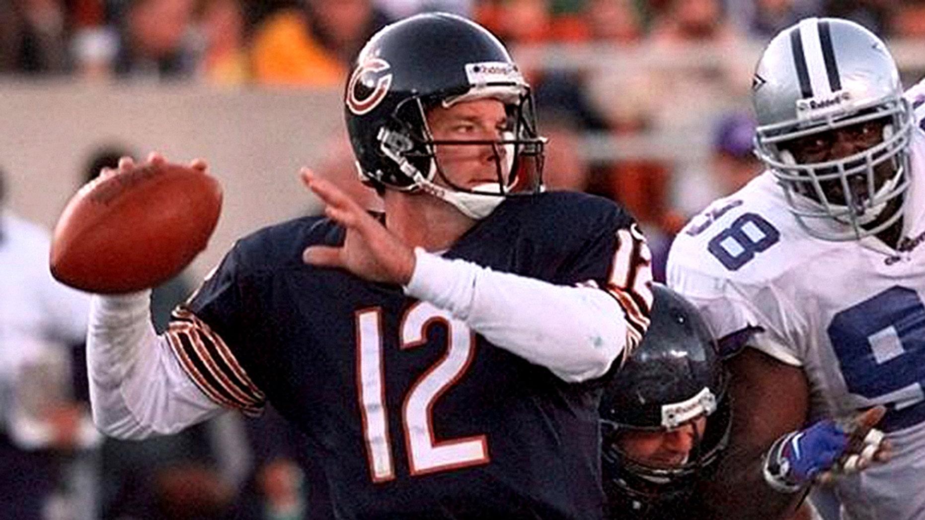 Former NFL quarterback Erik Kramer, who was arrested on domestic assault charges last week