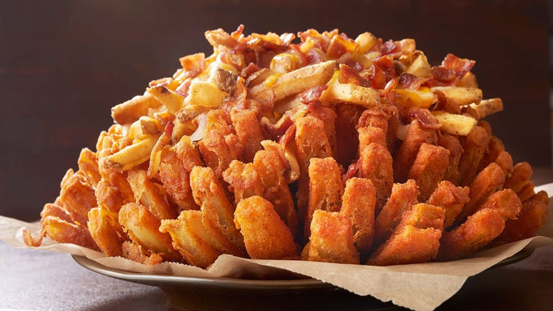 We Re No Stranger To Rounding Up Insanely Unhealthy Menu Items At Chain Restaurants And Outback Steakhouse S Legendary Bloomin Onion An Entire Colossal