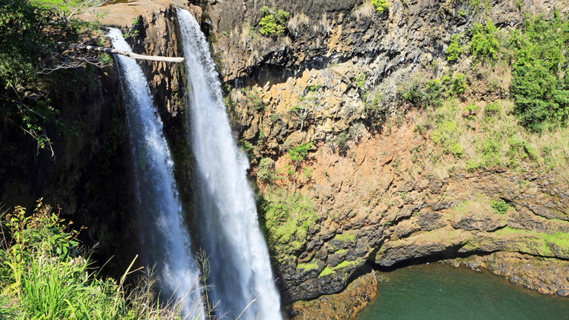 Wailua Falls on the Hawaiian island of Kauai are some of the state's tallest.