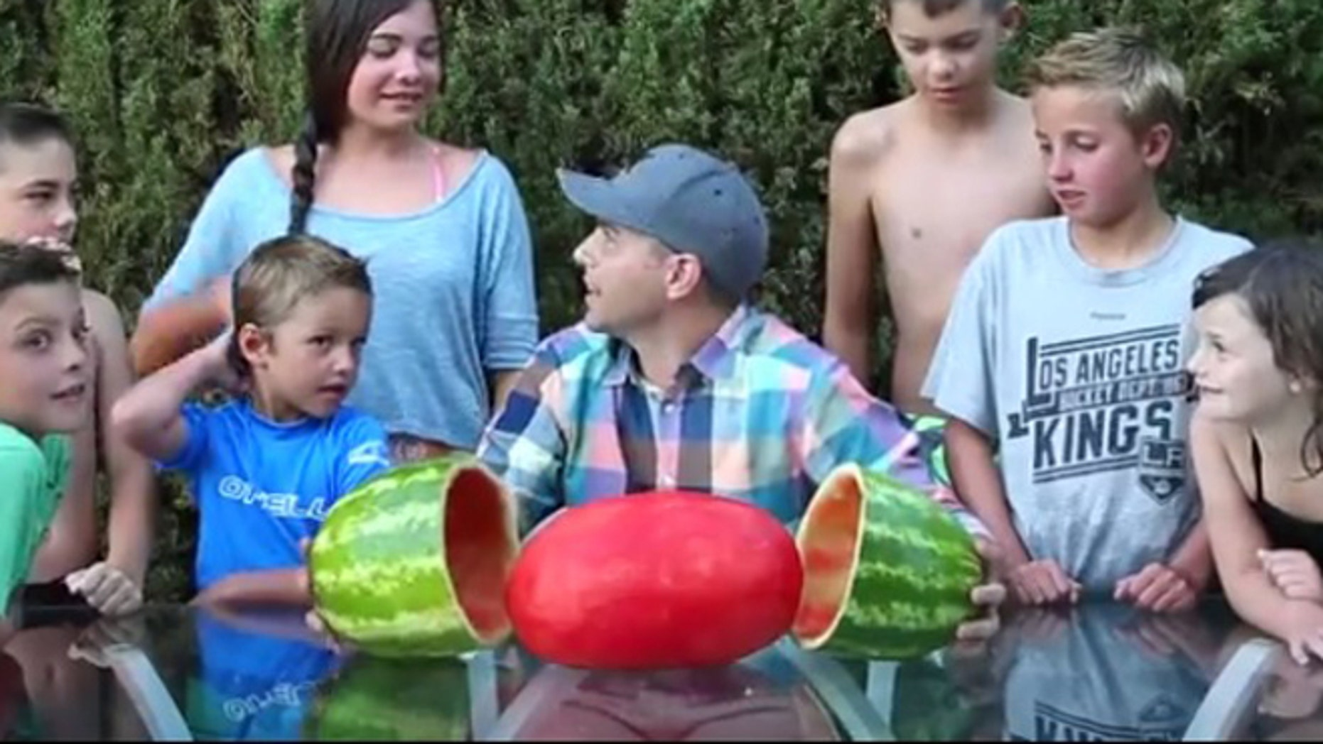 The smoothest watermelon you'll ever see.
