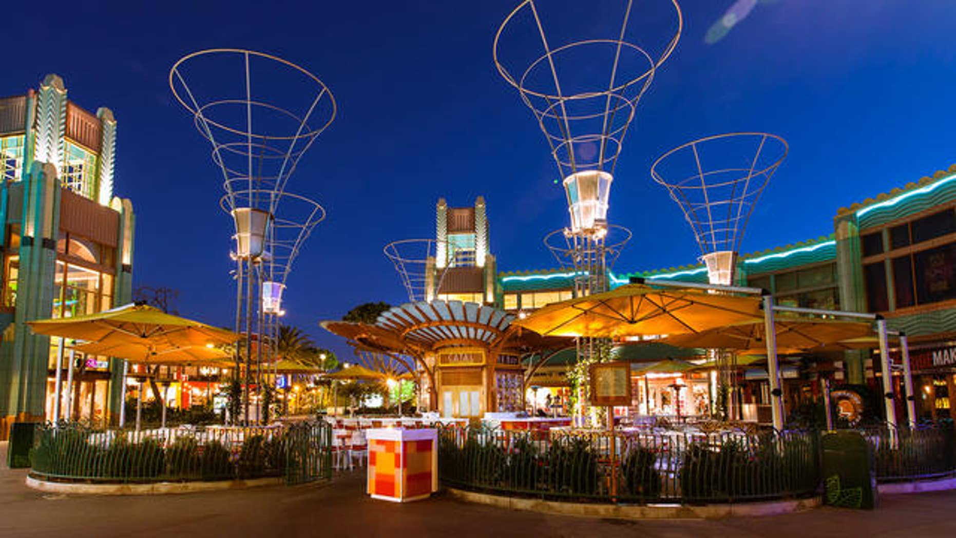 The Downtown Disney shopping and restaurant complex.