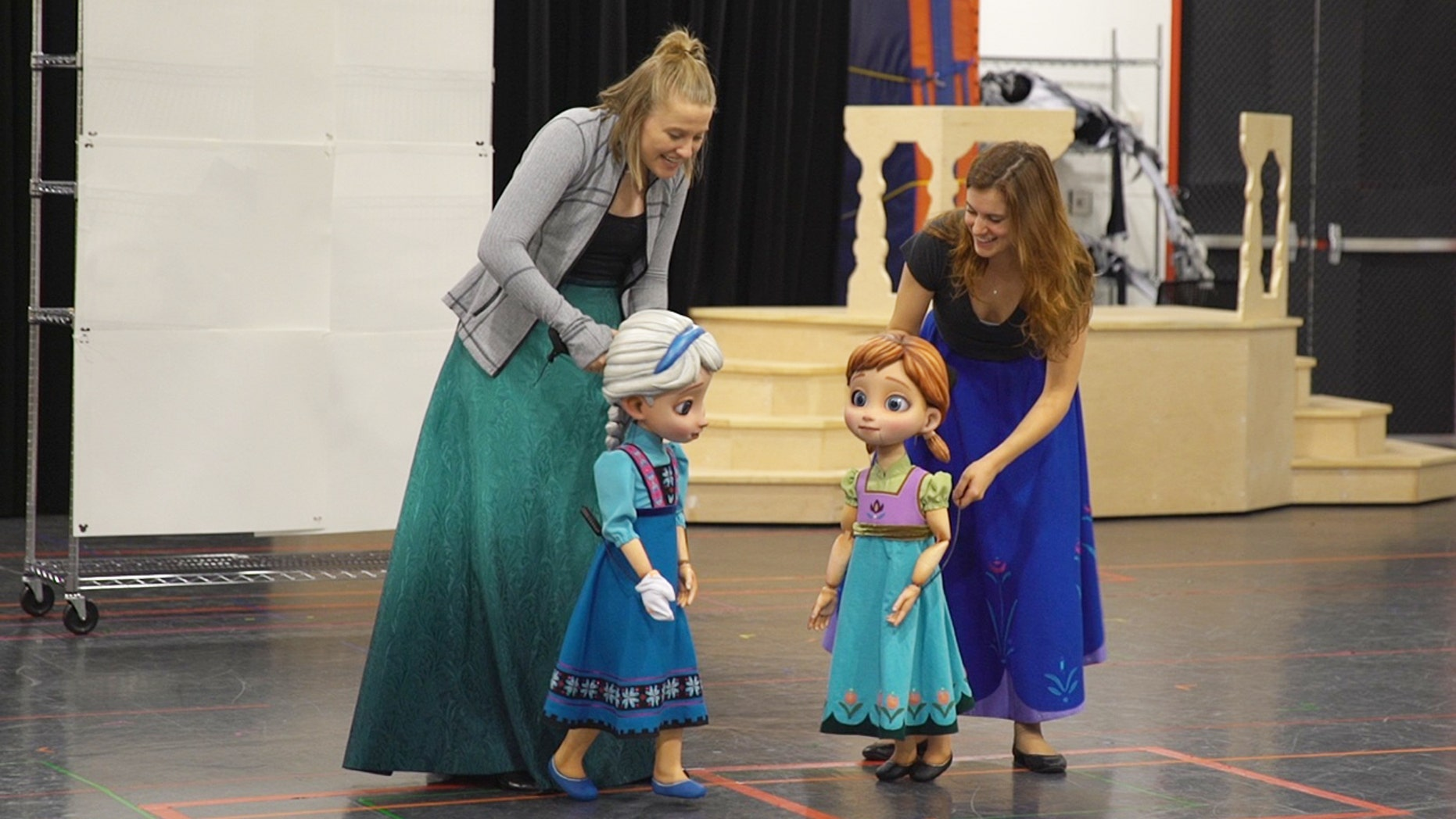"""A behind-the-scenes look at Disney's newest show at sea, """"Frozen: A Musical Spectacular."""""""