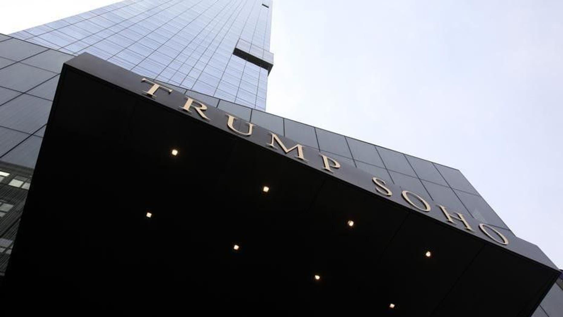 The Trump Soho Hotel in New York City.