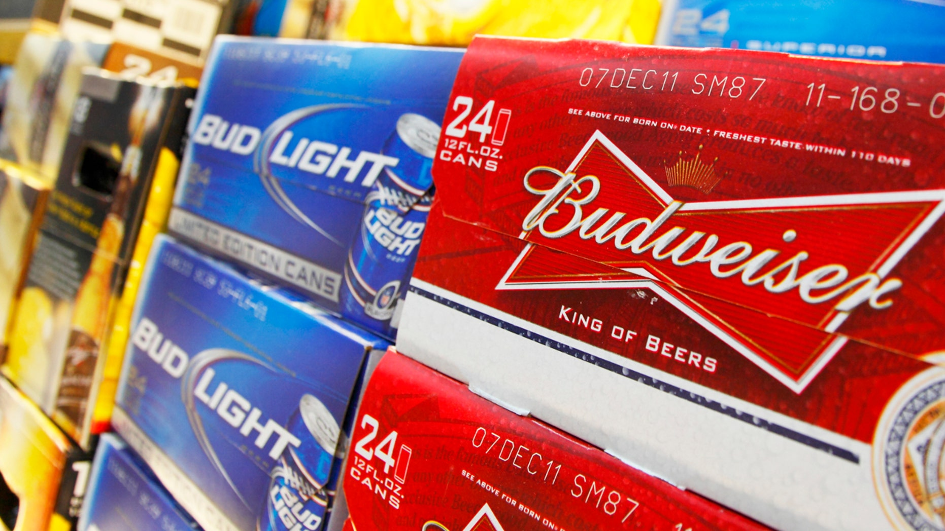 When mankind colonizes Mars, Budweiser is hoping Martian supermarkets will be well stocked with its suds.