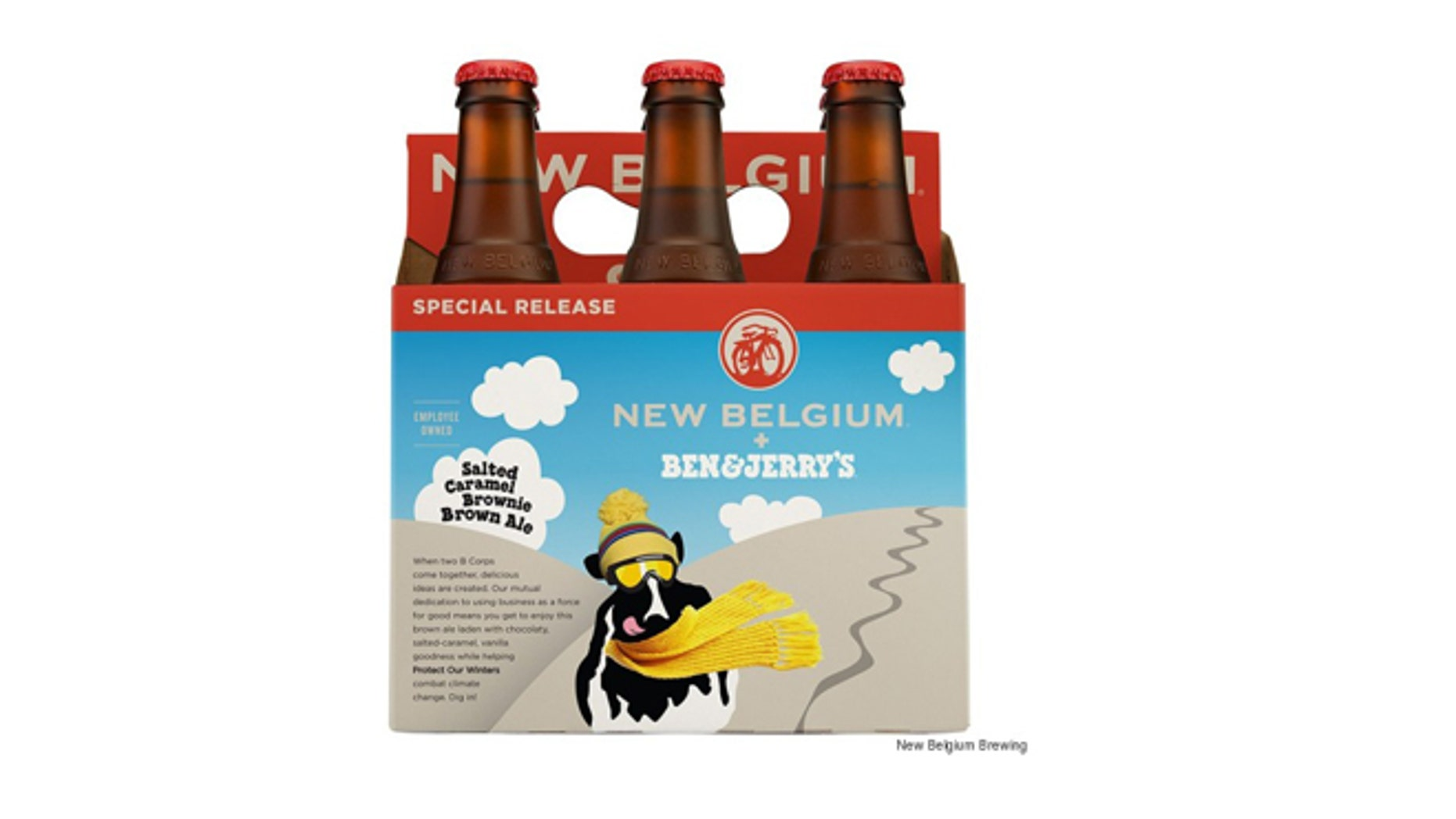 Ben & Jerry's is really making a beer.