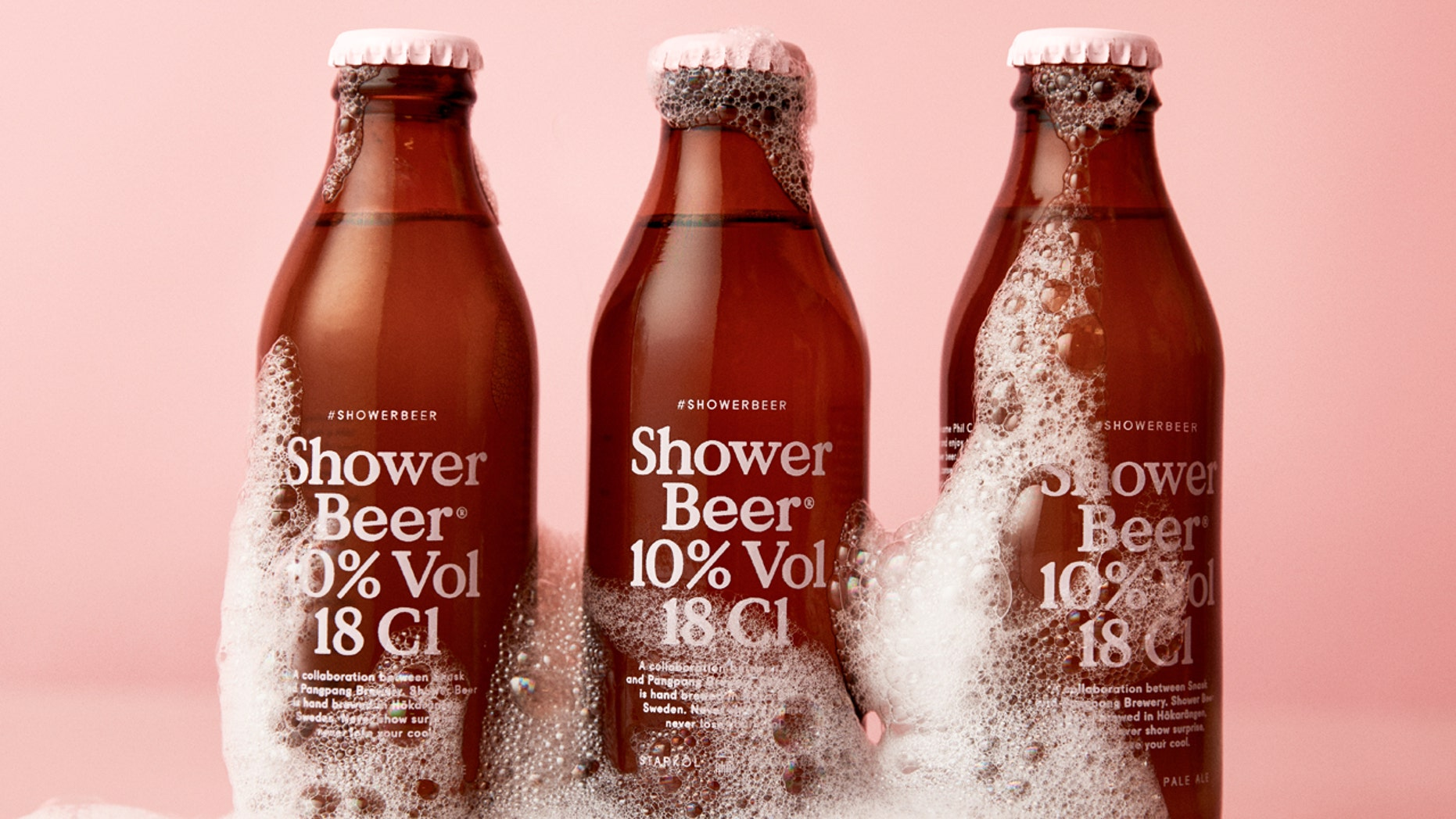 This beer is made for bath time.