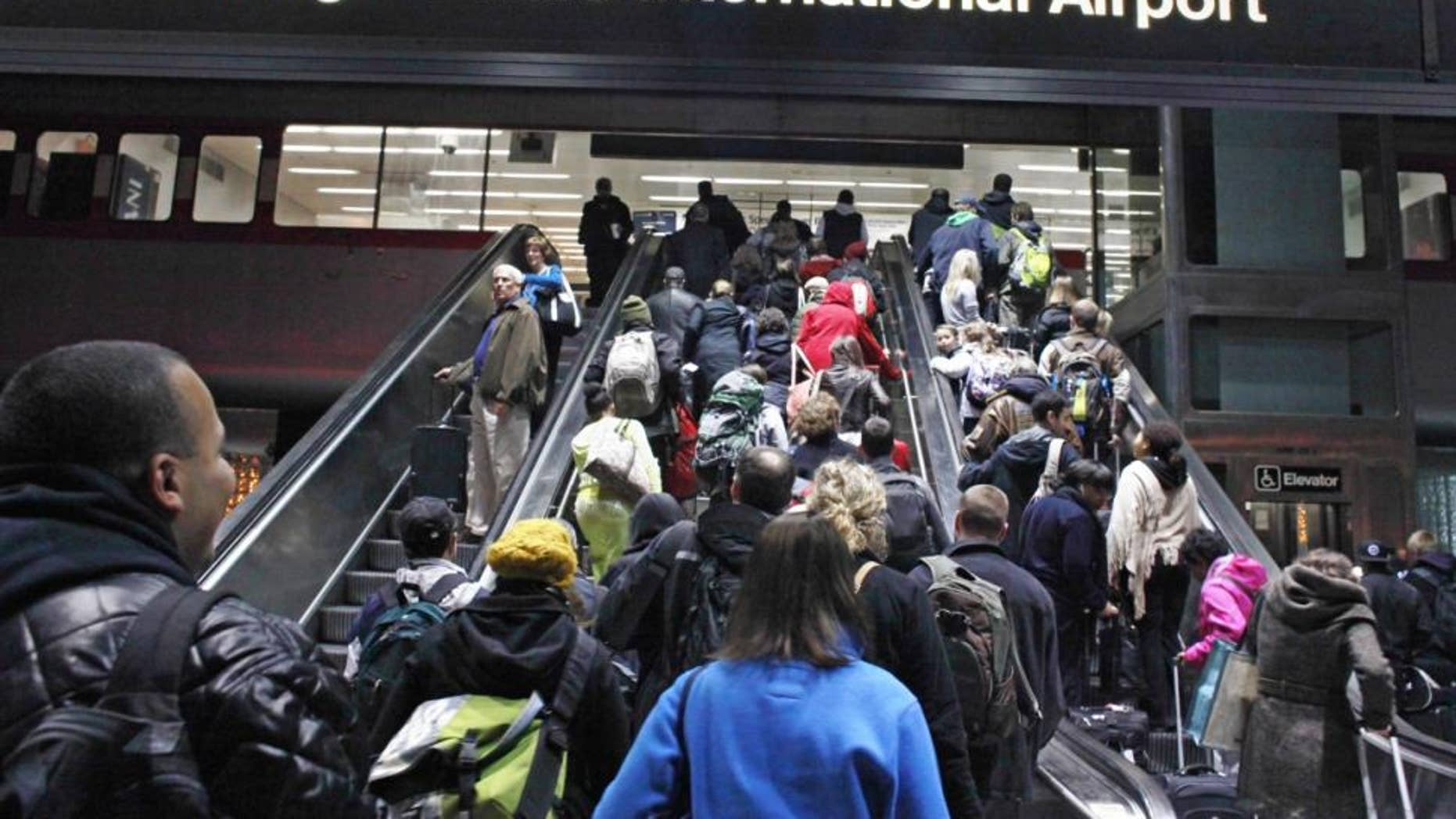 Thousands were stranded over the holiday season due to flight cancellations at Chicago O'Hare.