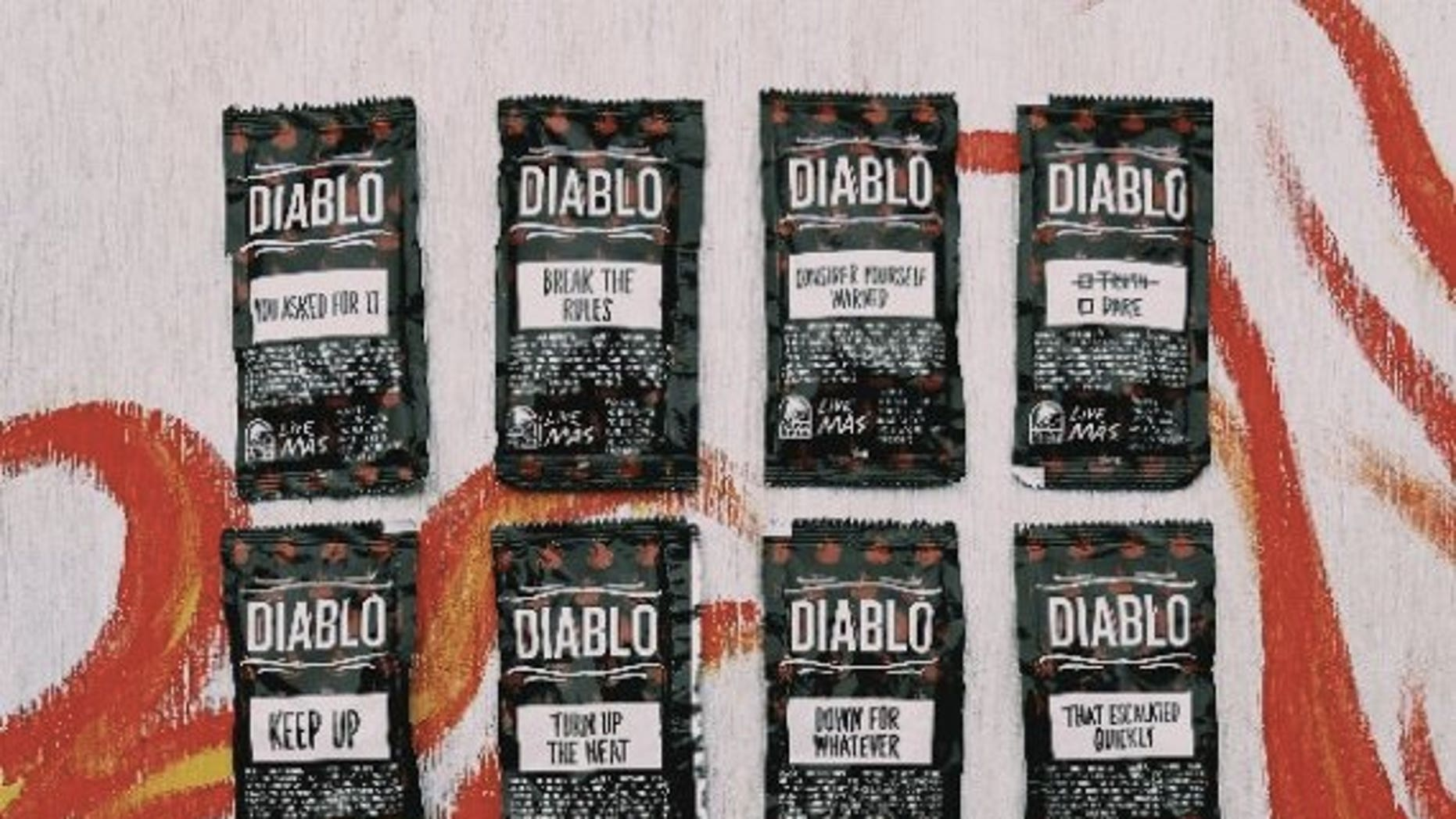 The taco chain's new hot sauce is hotter than fire.